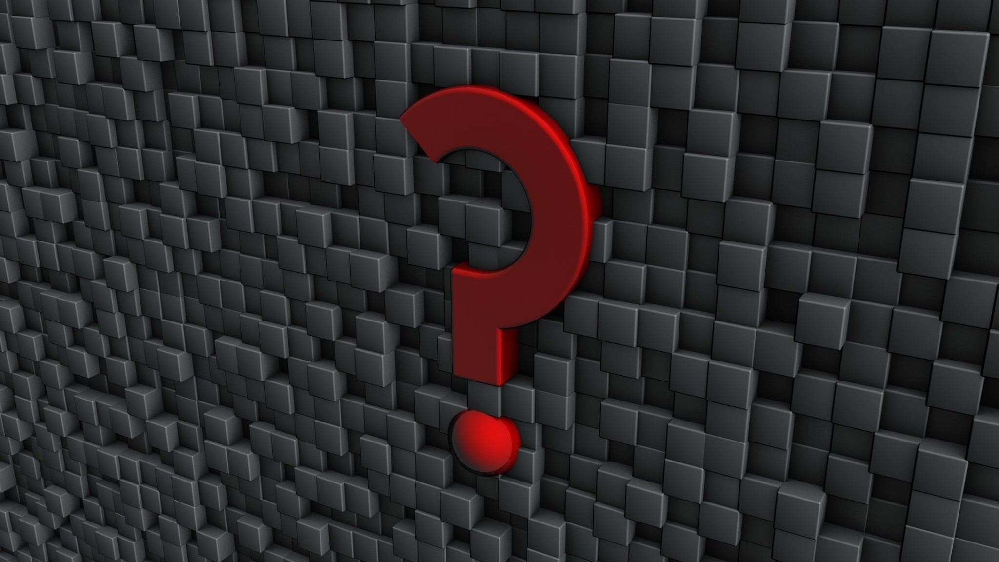 Wallpaper sign, question, punctuation, wall, form, metal