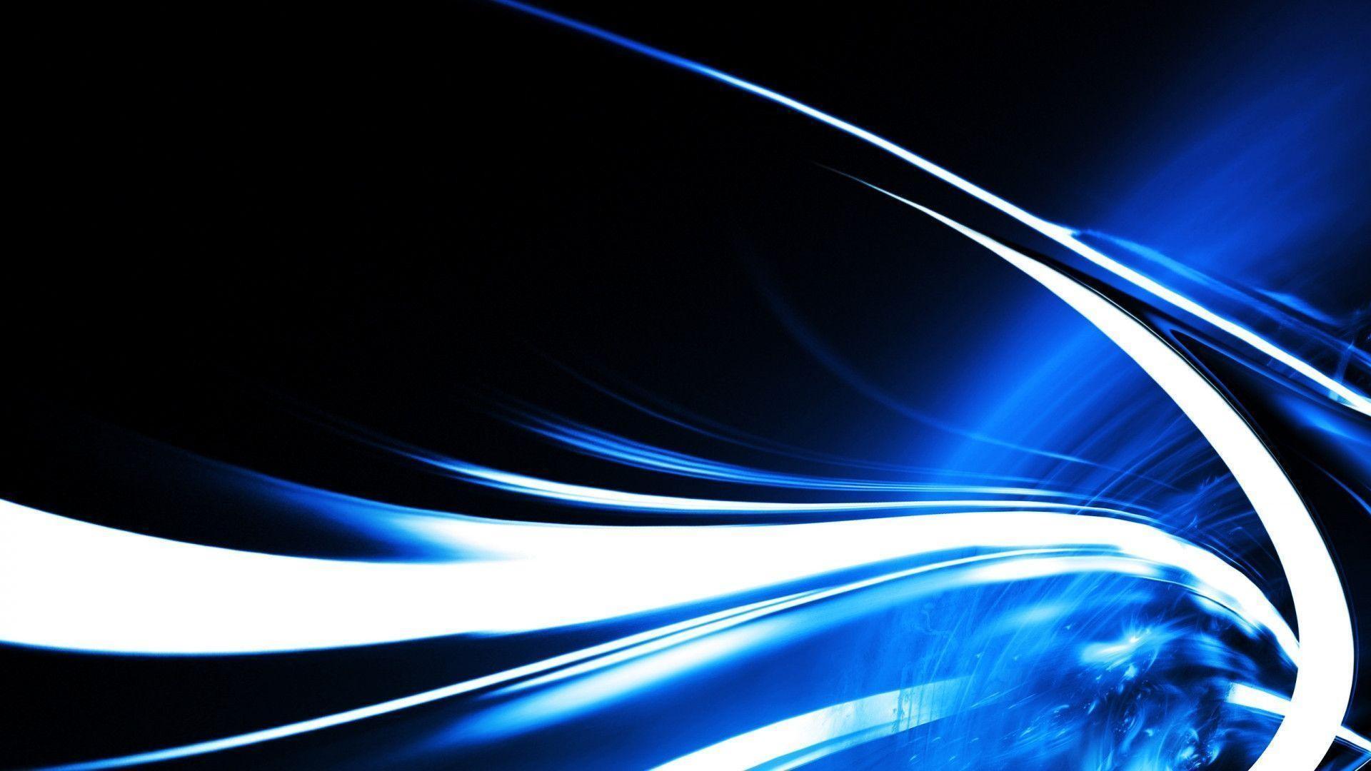 Blue swirl wallpaper – 964144