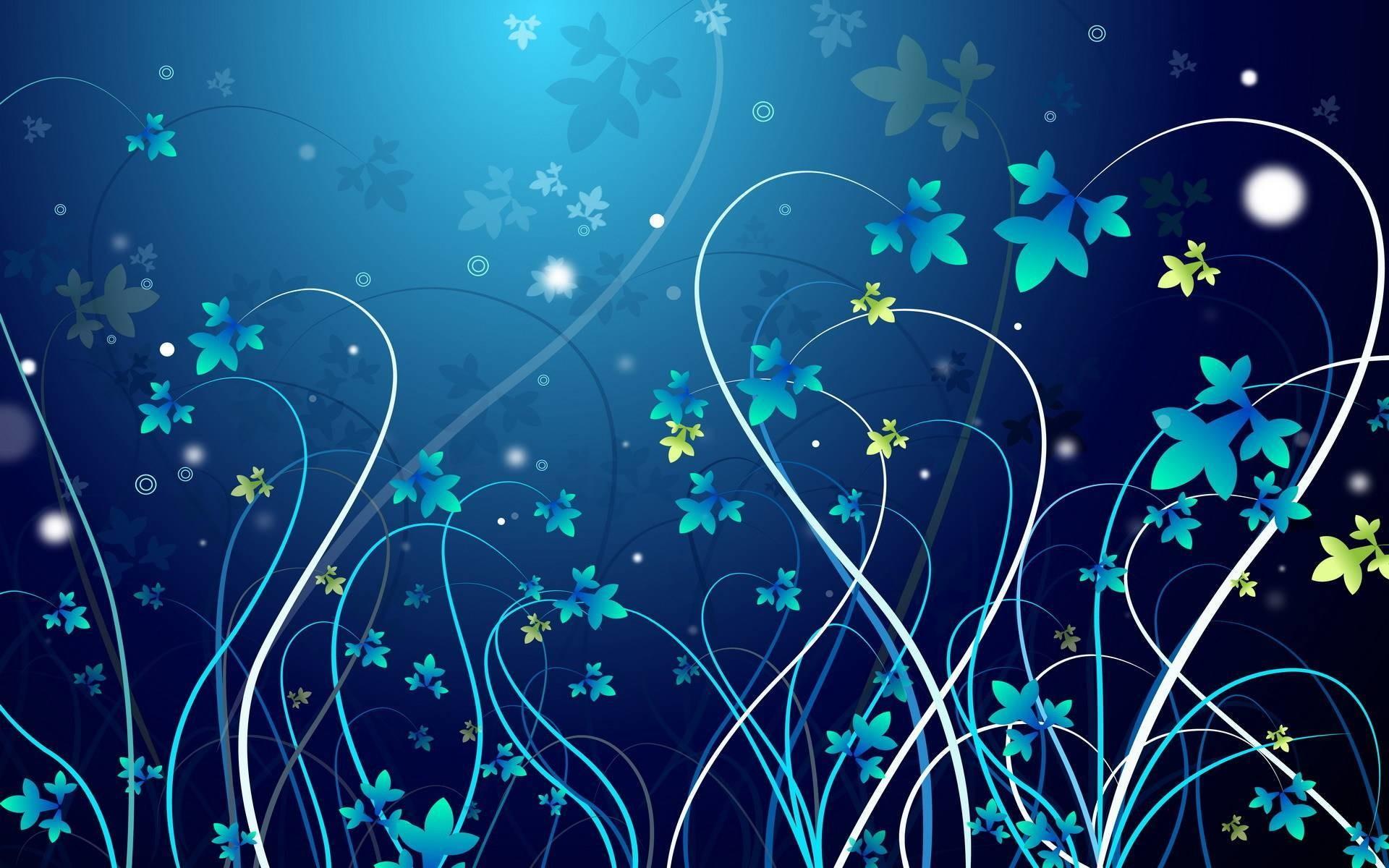 Flowers & Swirl Twitter Backgrounds, Flowers & Swirl Twitter Themes
