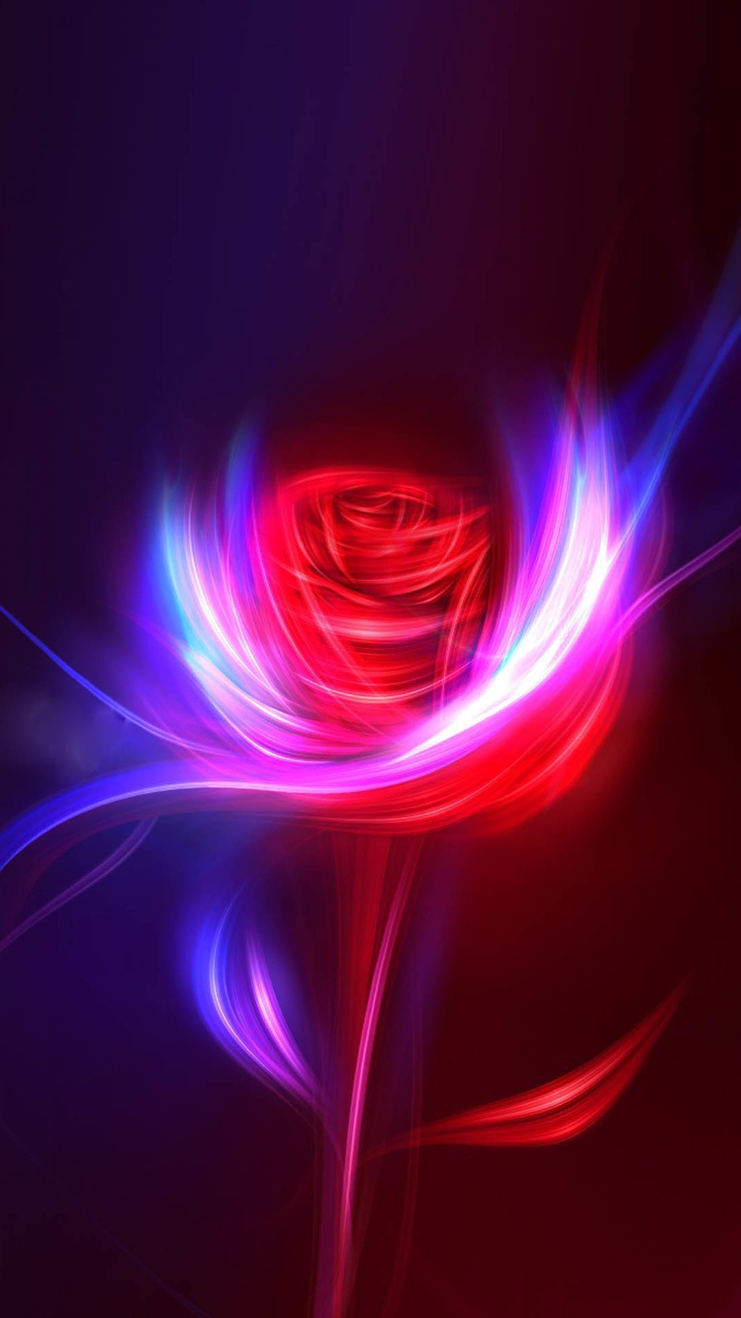 Fantasy Rose Swirl Light Design Art #iPhone #6 #plus #wallpaper