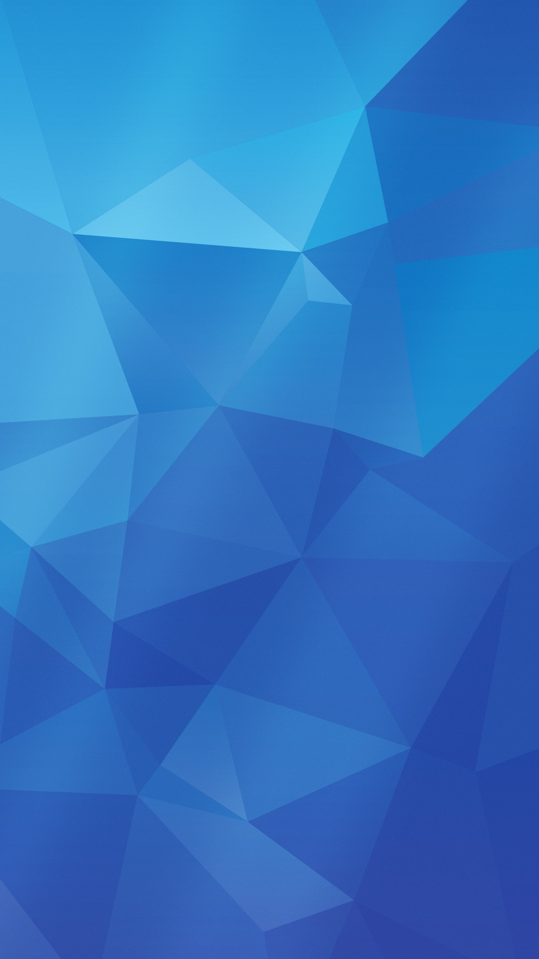 A slightly more accurate version of the blue Samsung Galaxy S5 wallpaper,  courtesy of Shimmi