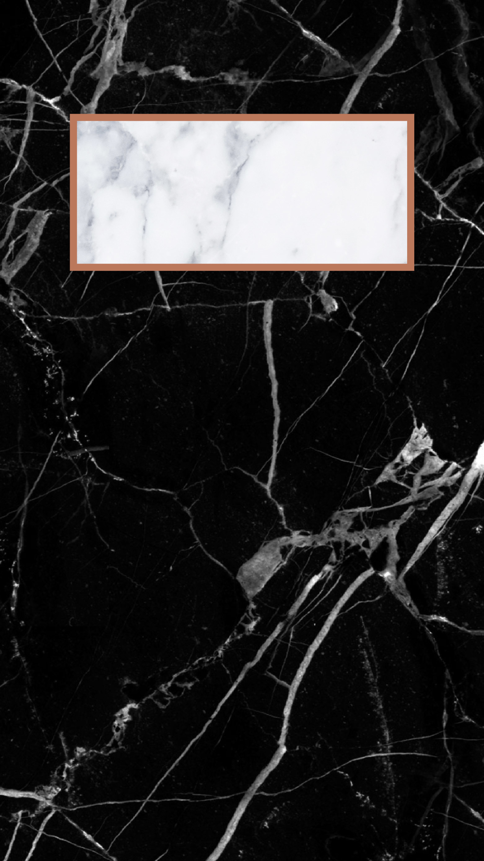 Black and White Marble Phone Wallpaper