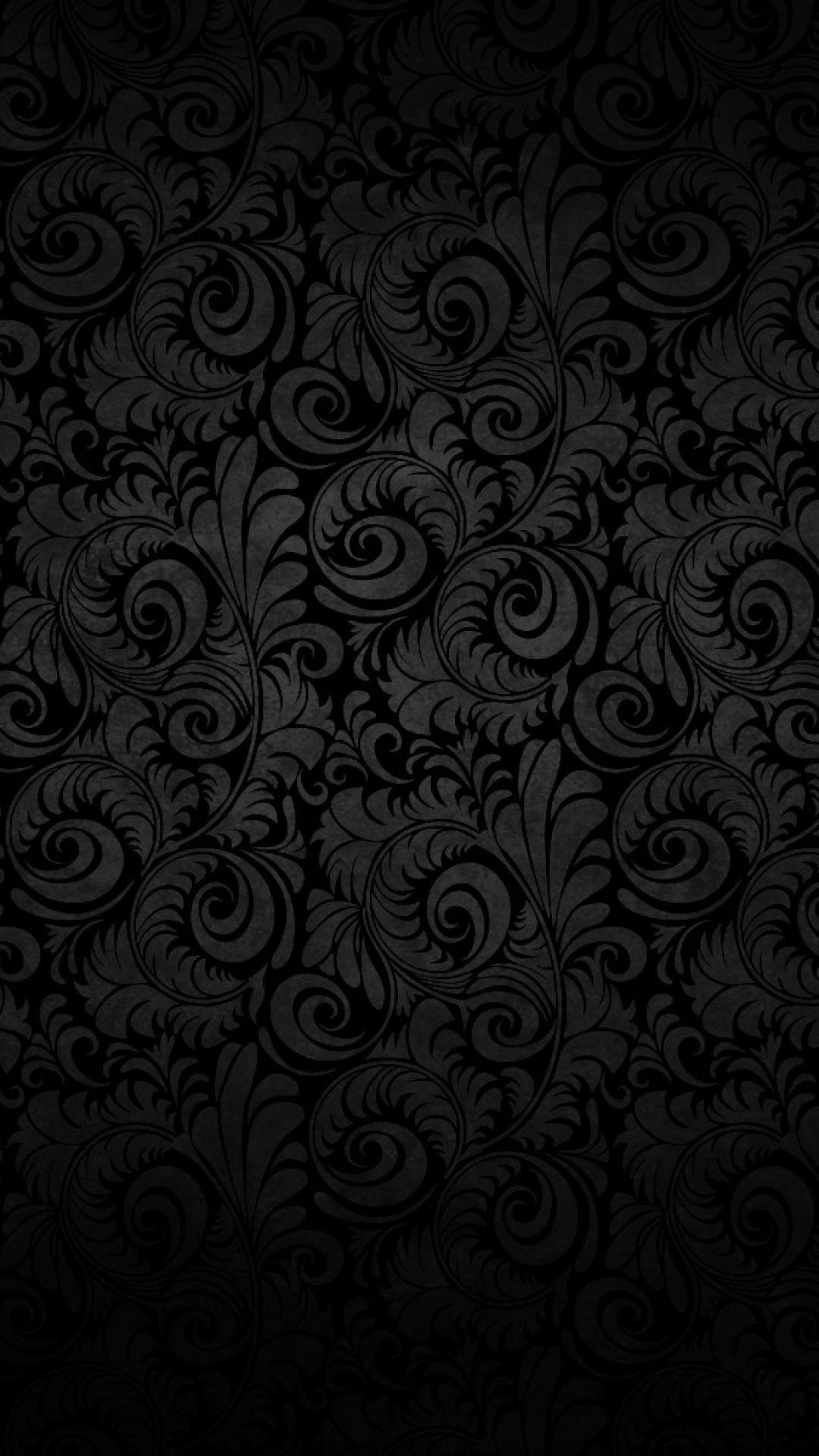 black wallpaper iphone hd