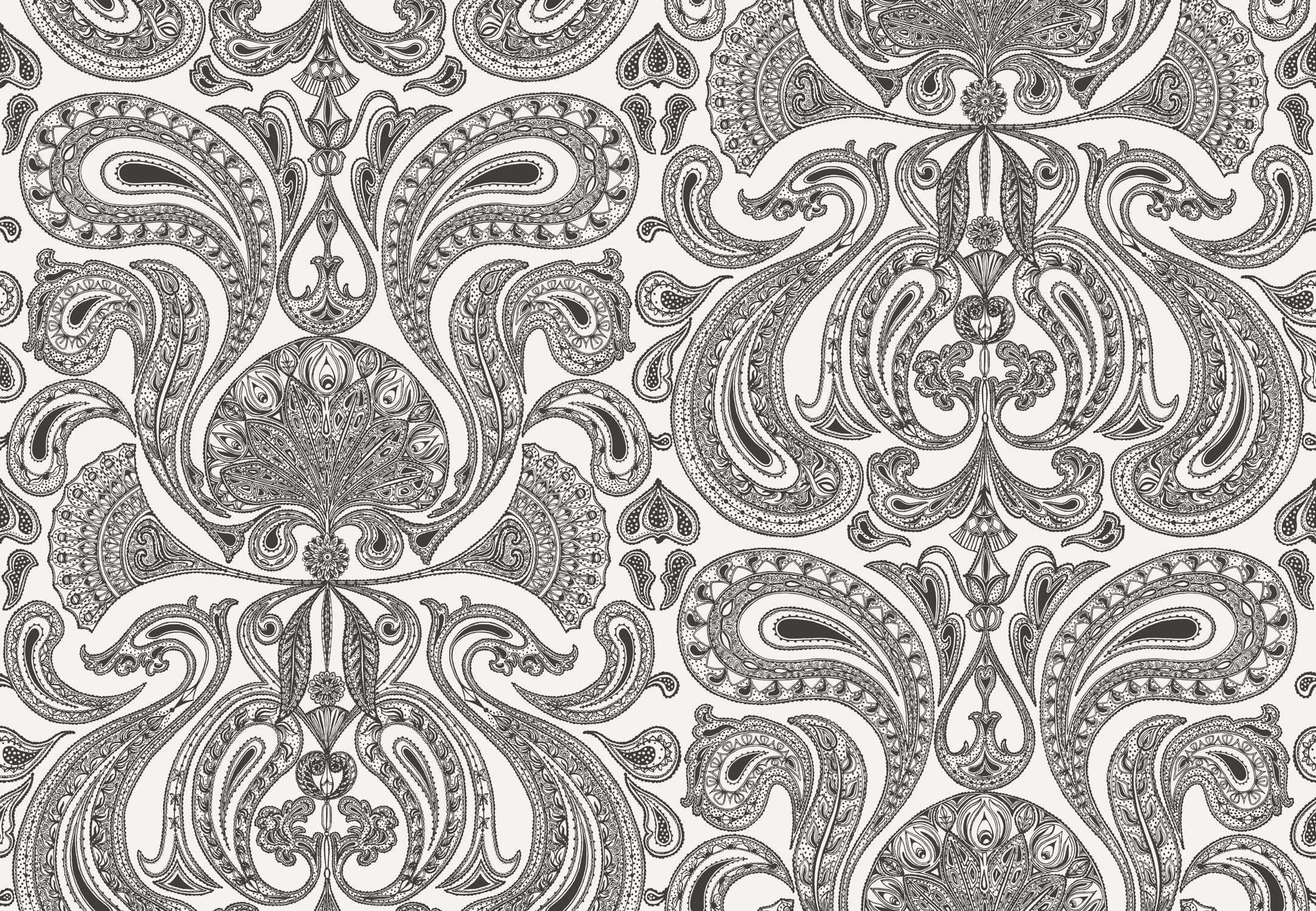 … Traditional wallpaper / baroque 66/1004 MALABAR Cole&Son