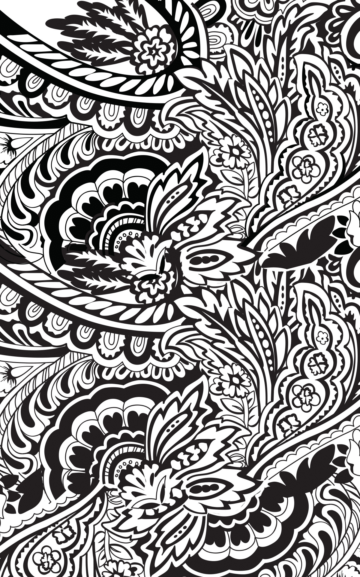 Paisley Cool Backgrounds for iPhone