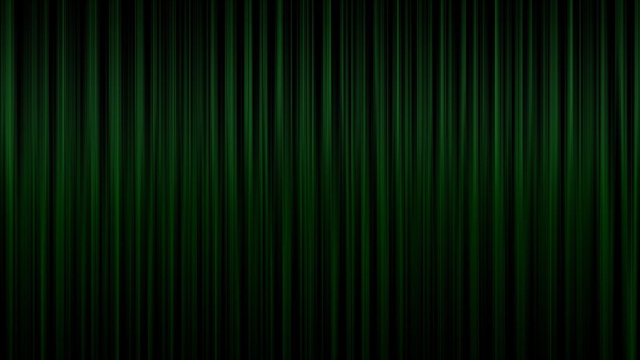 Preview wallpaper green, bands, vertical, dark, shadow 2048×1152