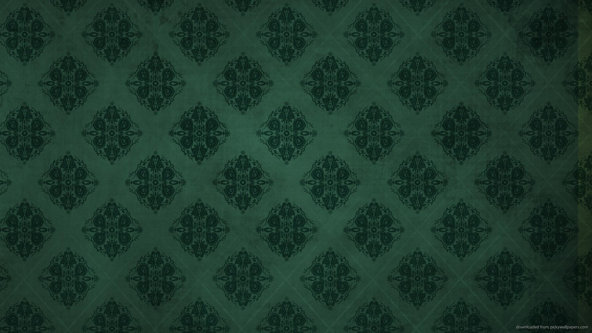 Dark Green Rhombus Pattern picture