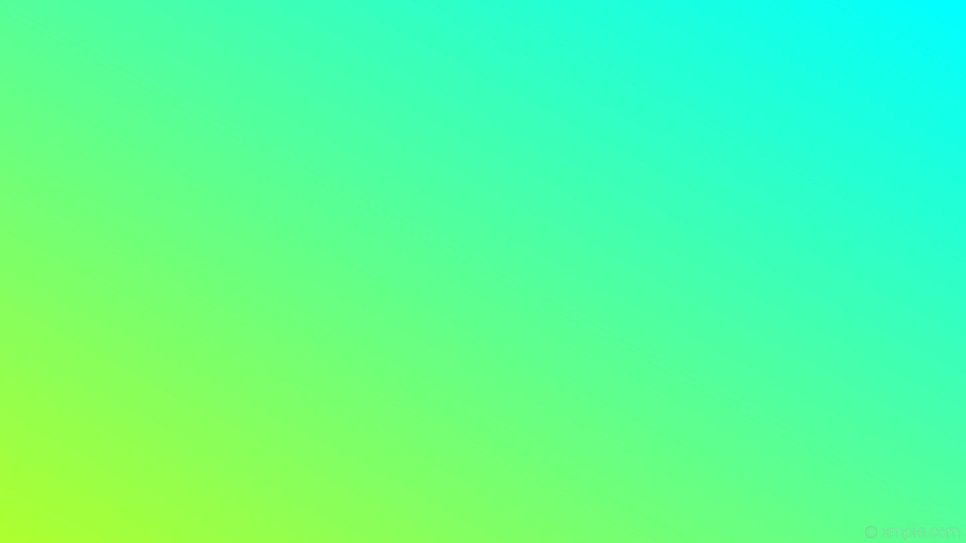 wallpaper gradient blue linear green aqua cyan green yellow #00ffff #adff2f  30°