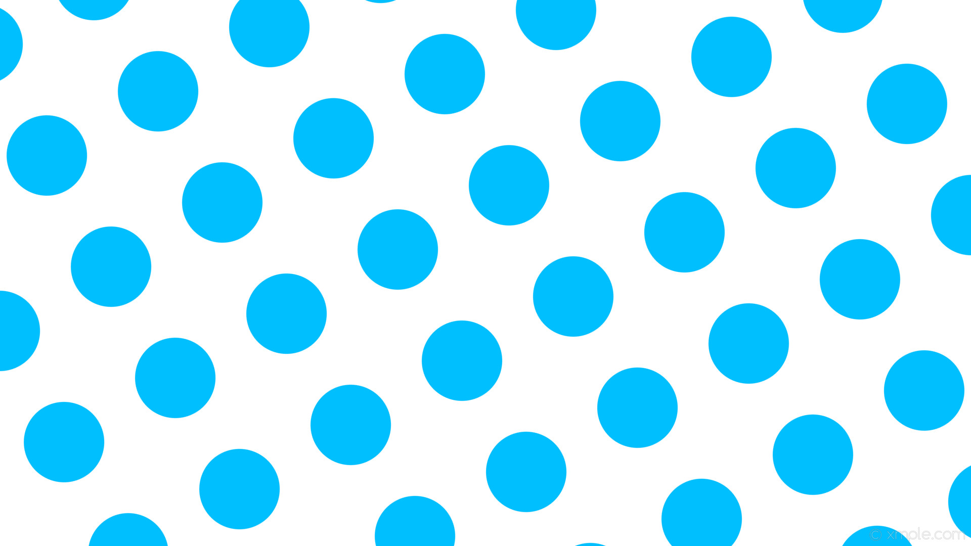 wallpaper white polka blue spots dots deep sky blue #ffffff #00bfff 300°  159px