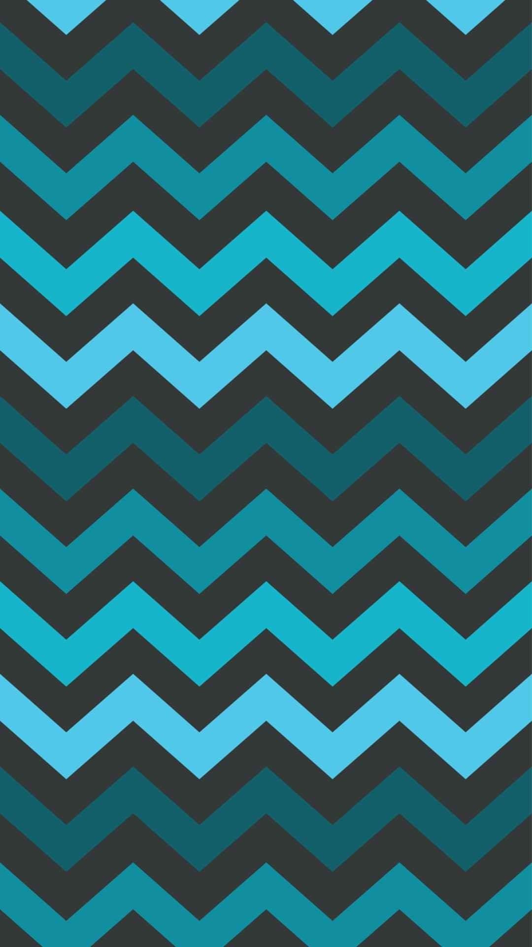 Chevron Dim Blue and Black iPhone 6 Plus Wallpaper – Zigzag Pattern,  #iPhone #