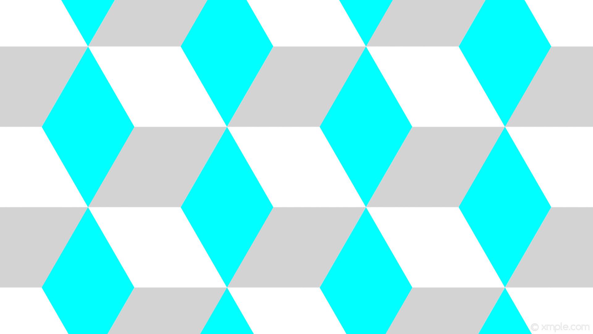 wallpaper blue 3d cubes grey white aqua cyan light gray #ffffff #00ffff  #d3d3d3