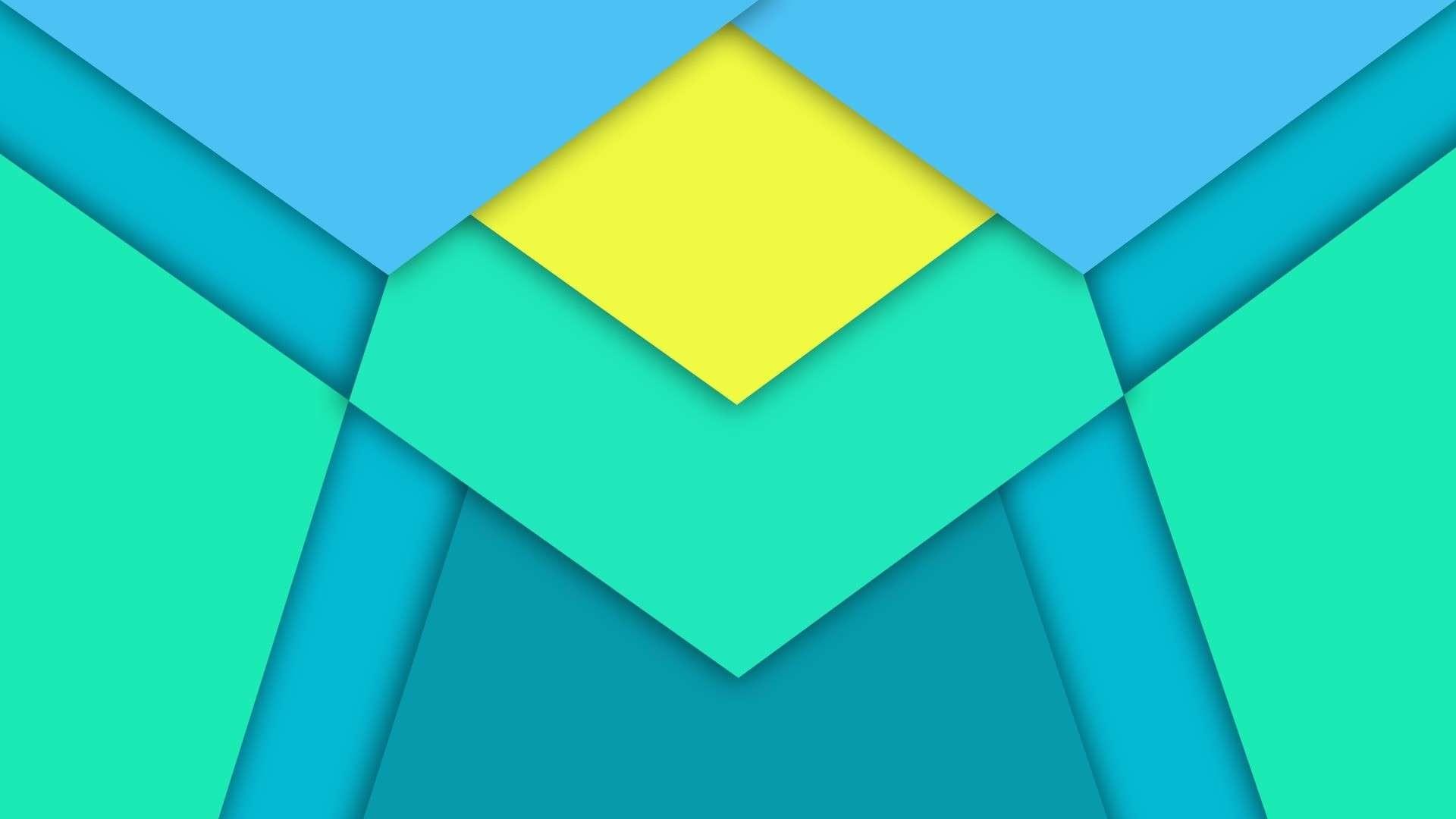 minimalism triangle diamonds material design