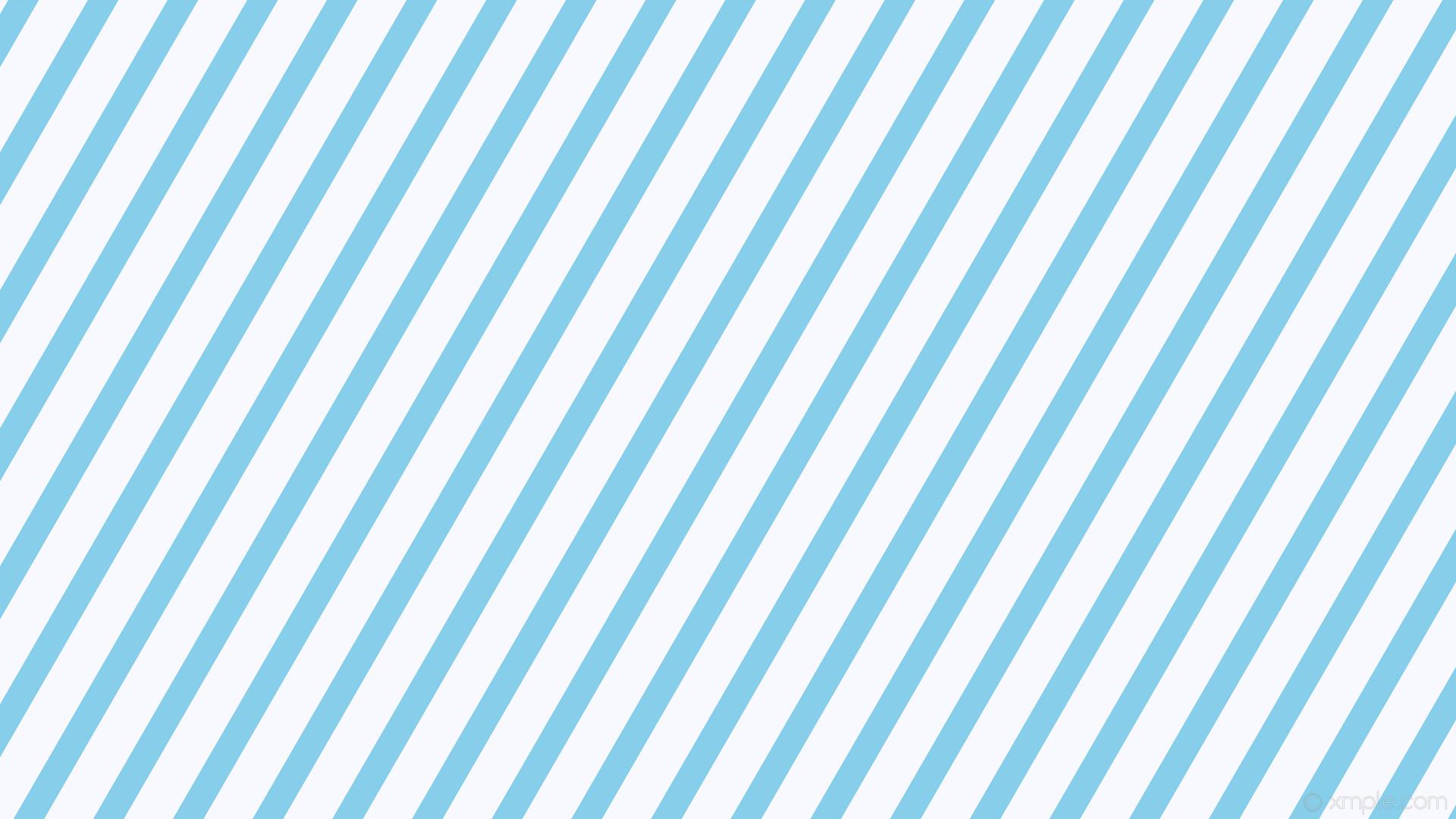 wallpaper stripes lines streaks white blue sky blue ghost white #87ceeb  #f8f8ff diagonal 60