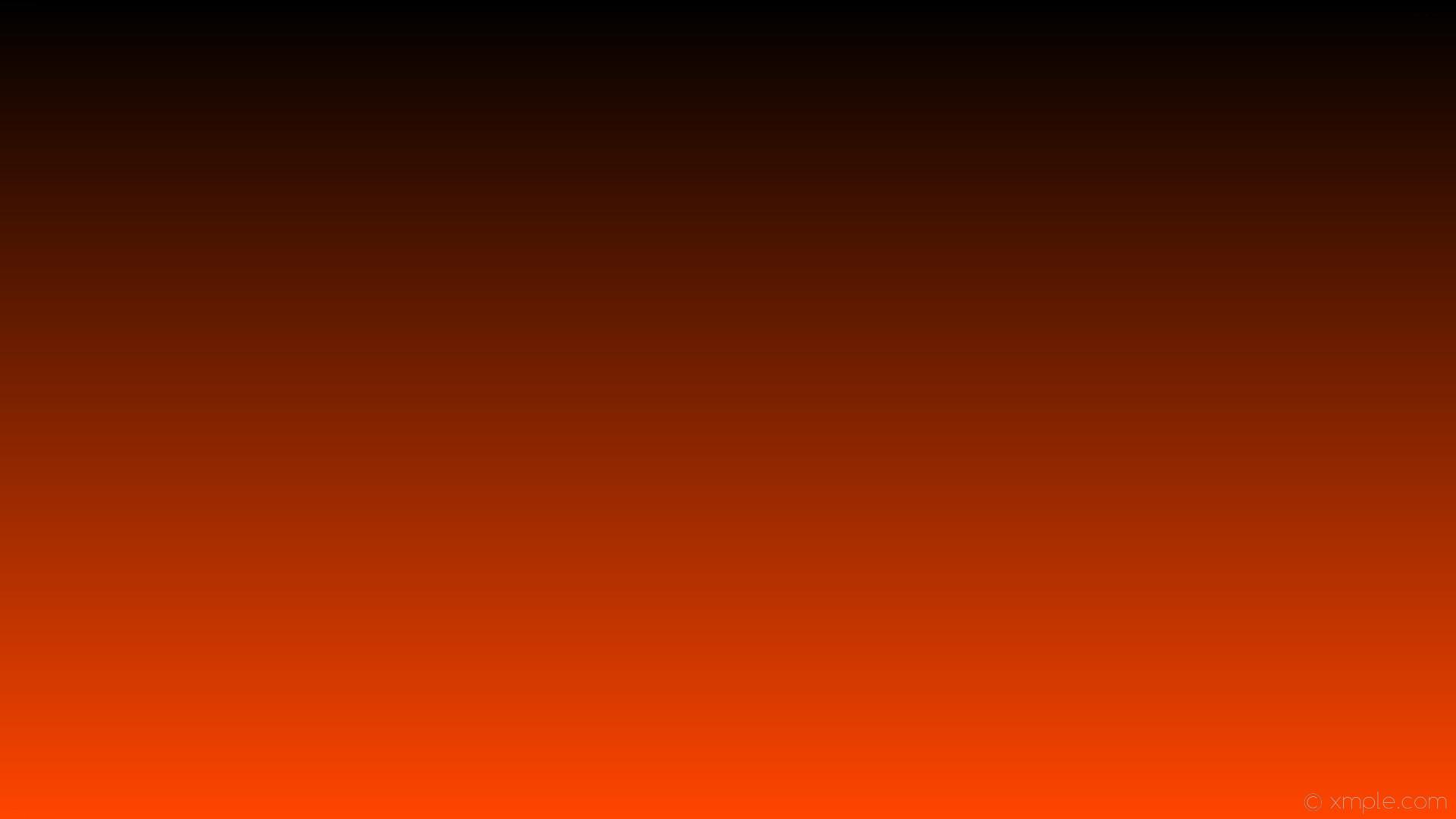 wallpaper linear gradient orange black orangered #ff4500 #000000 270°