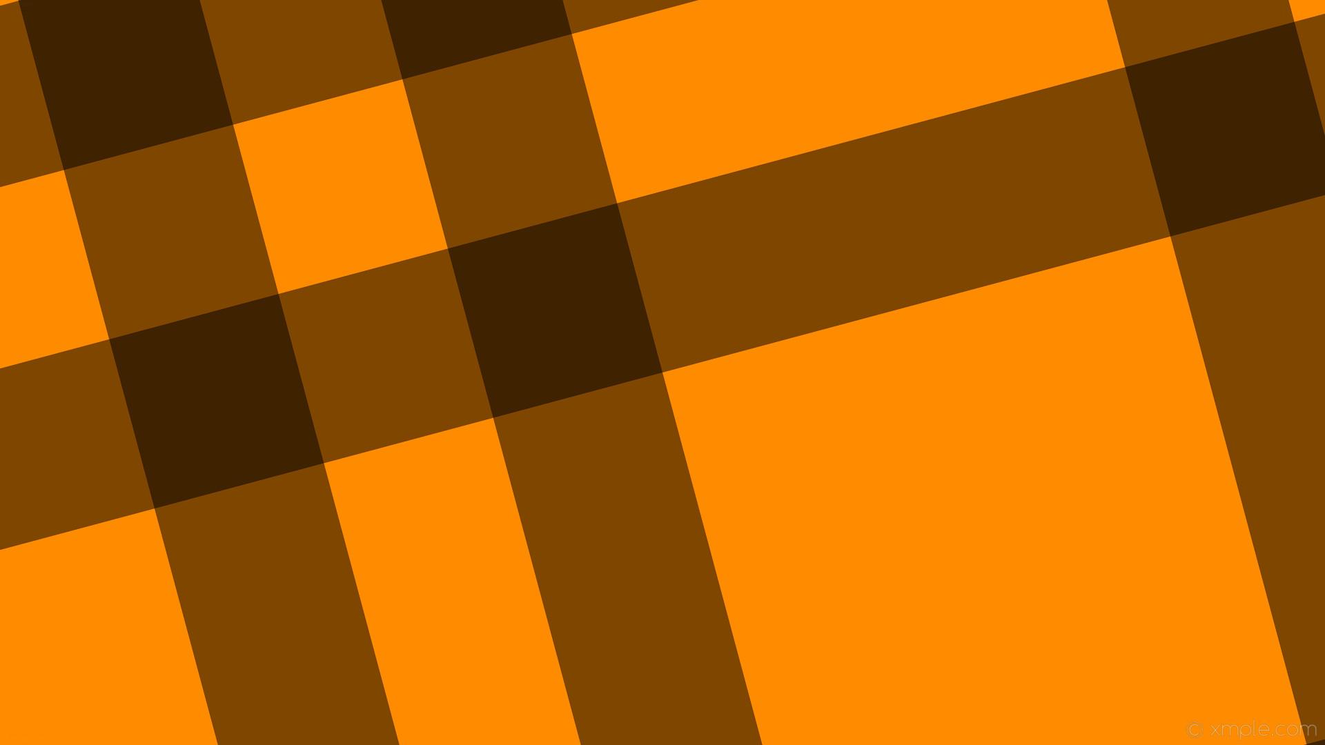 wallpaper gingham dual striped black orange dark orange #ff8c00 #000000  195° 254px