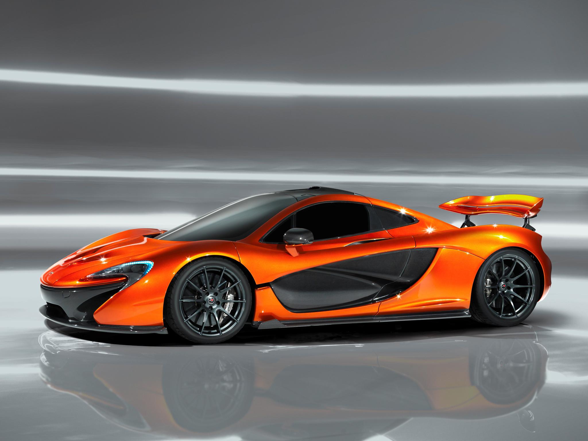 McLaren P1 Orange Wallpaper