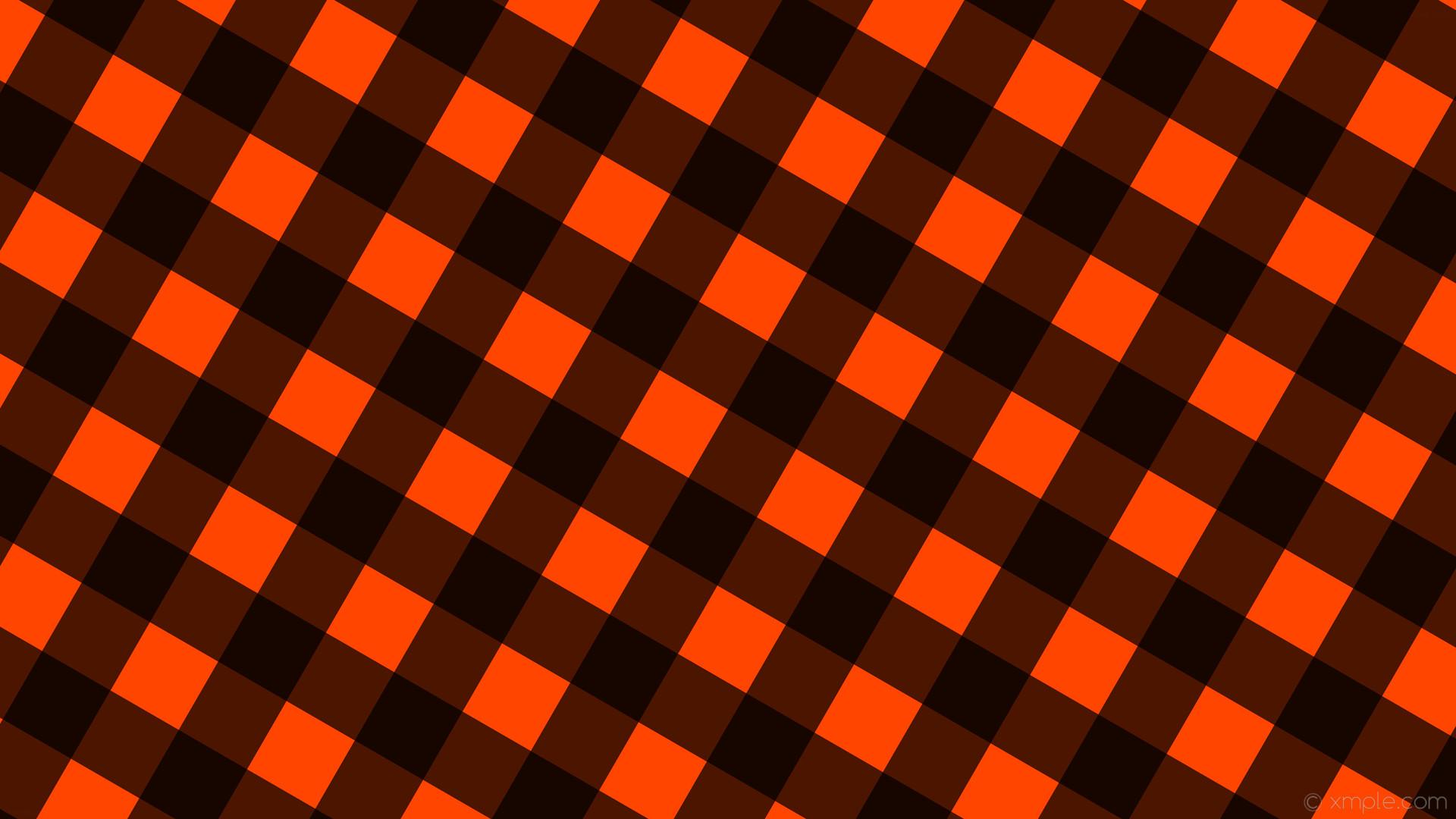 Black And Orange Striped Wallpaper