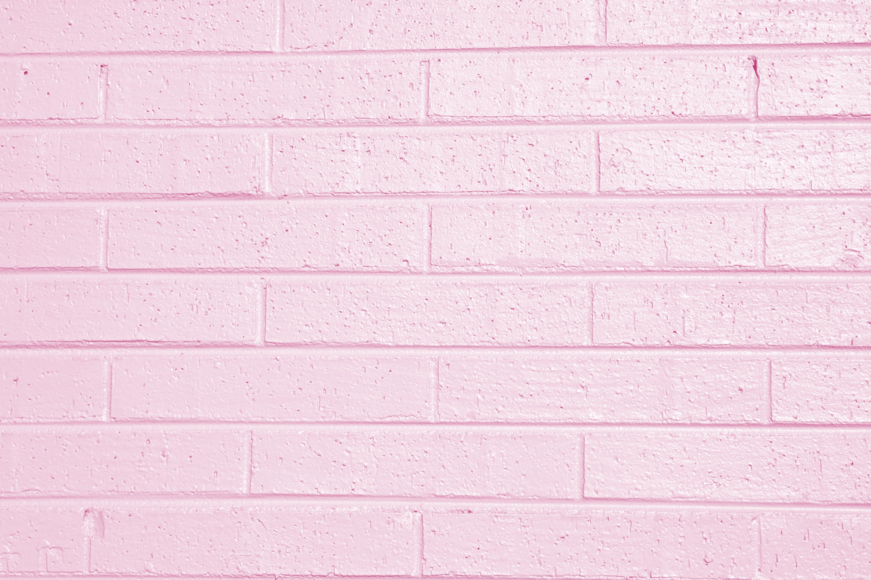 Free High Resolution Photo Of A Brick Wall Painted Light Pink. Great  Desktop Wallpaper Or