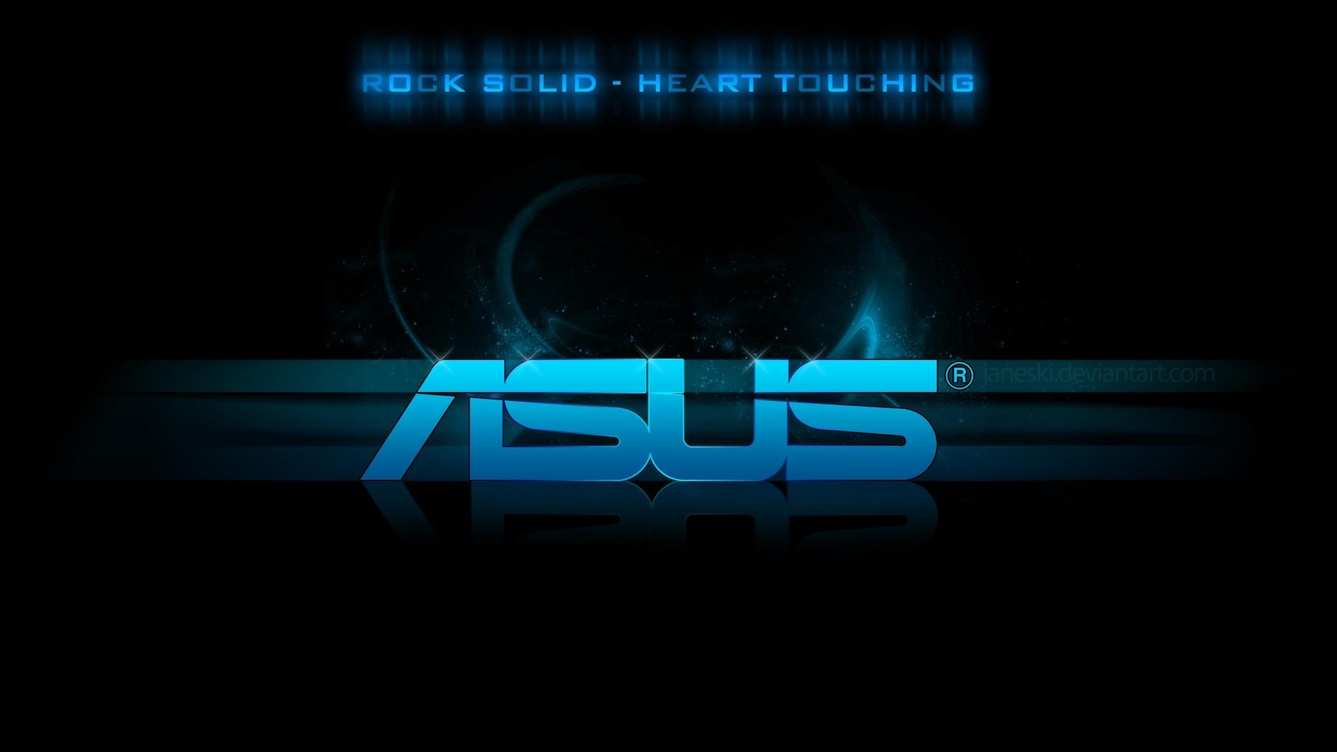 … company · asus, logo, blue