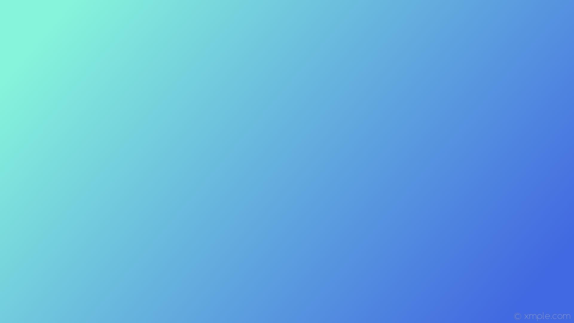 wallpaper cyan blue gradient linear royal blue #86f4db #4169e1 165°