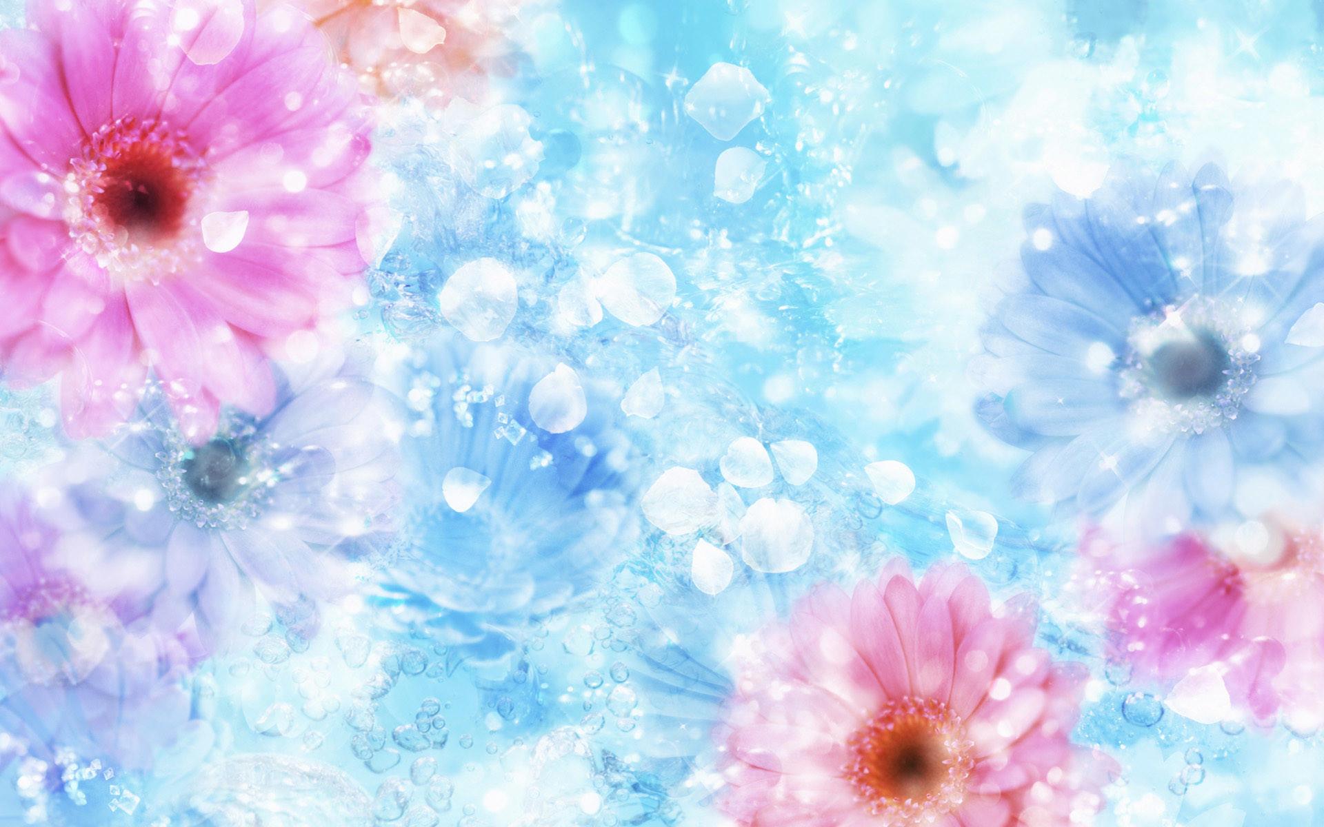 Free Art wallpaper – CG Flower 1 wallpaper – wallpaper – Index 6