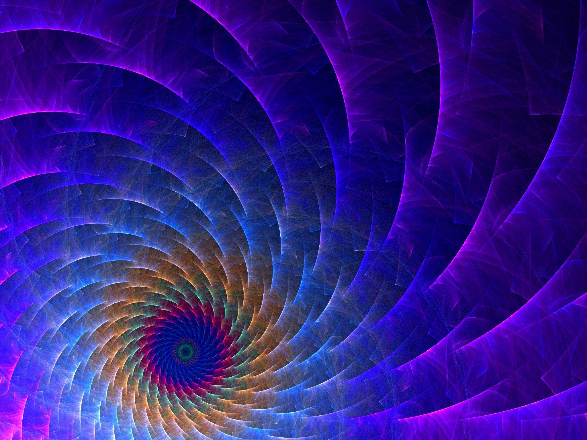 Vortex, abstract, Apophysis, background, blue, colored .