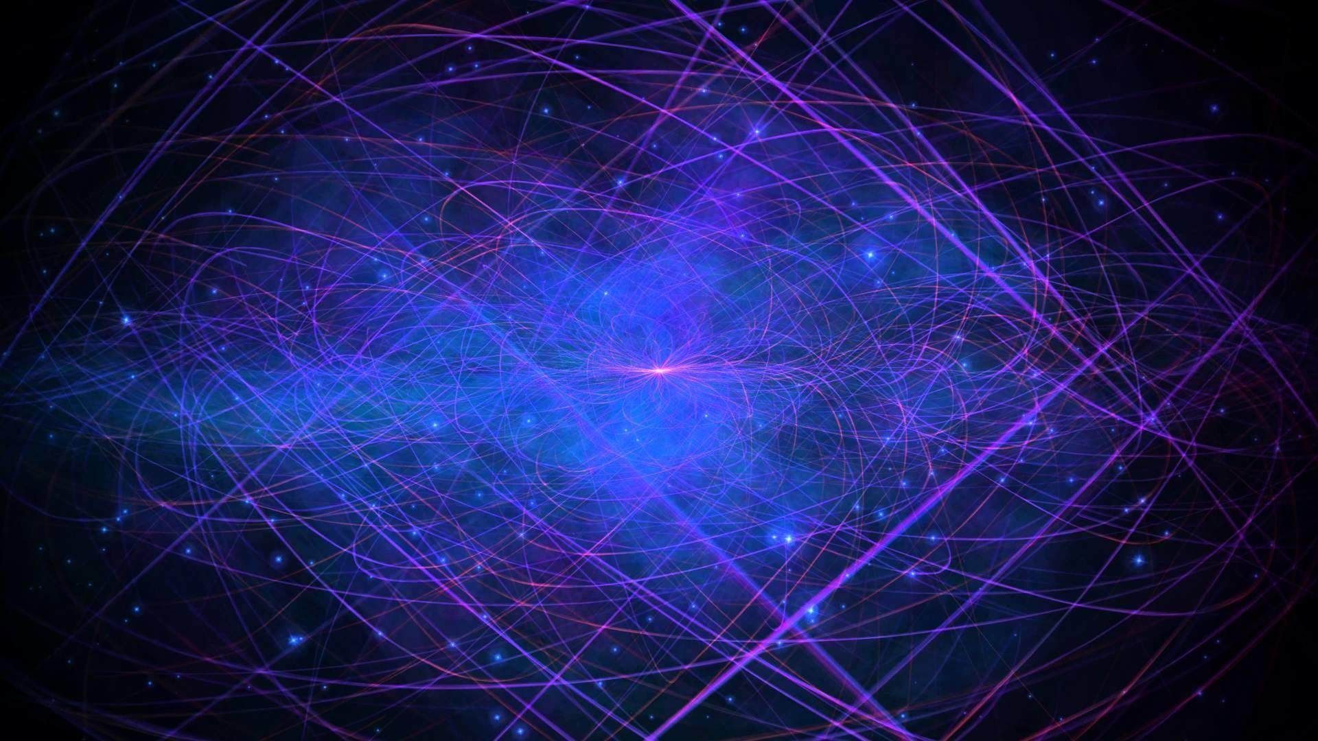 4K Purple Blue Void Slow Space Travel 2160p Motion Background