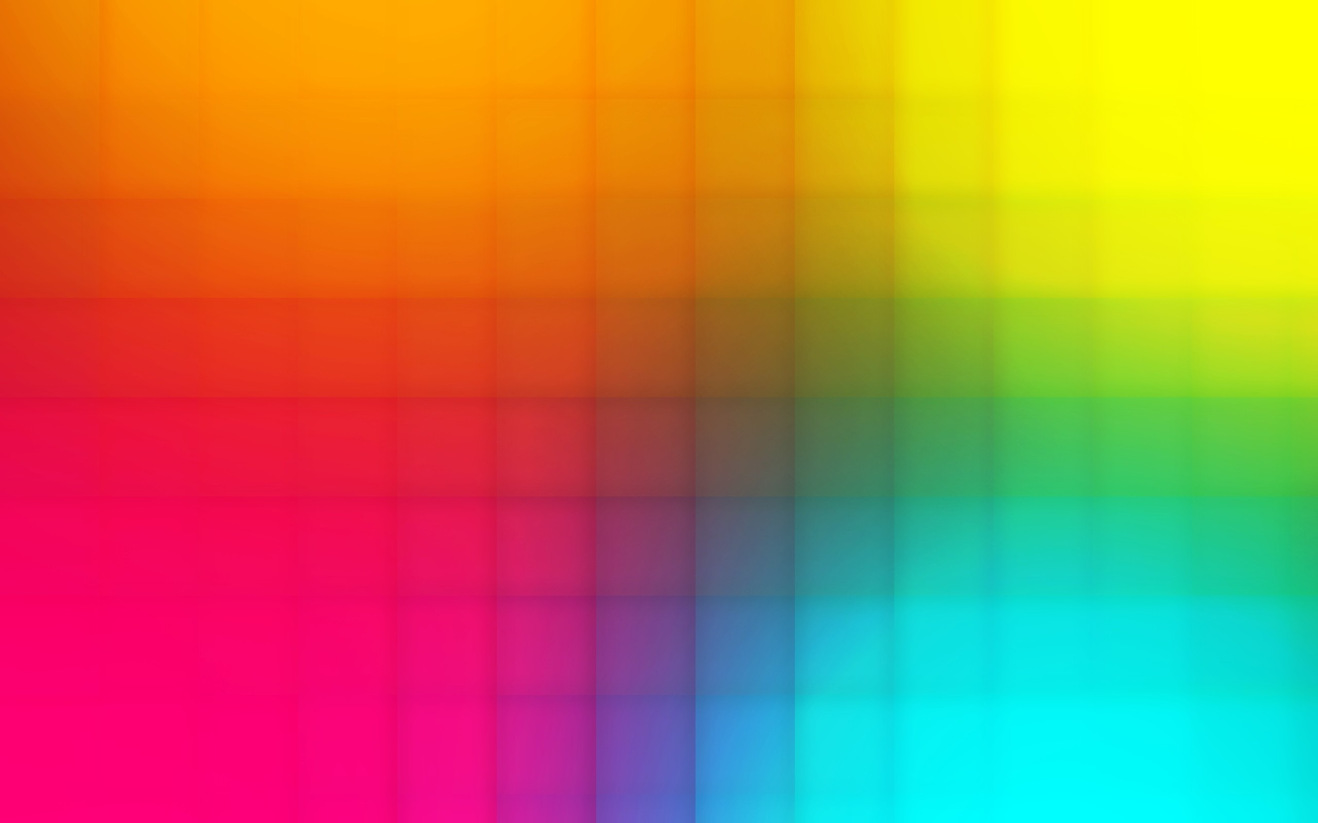 Wallpaper Squares, Background, Multi-colored, Bright, Diced