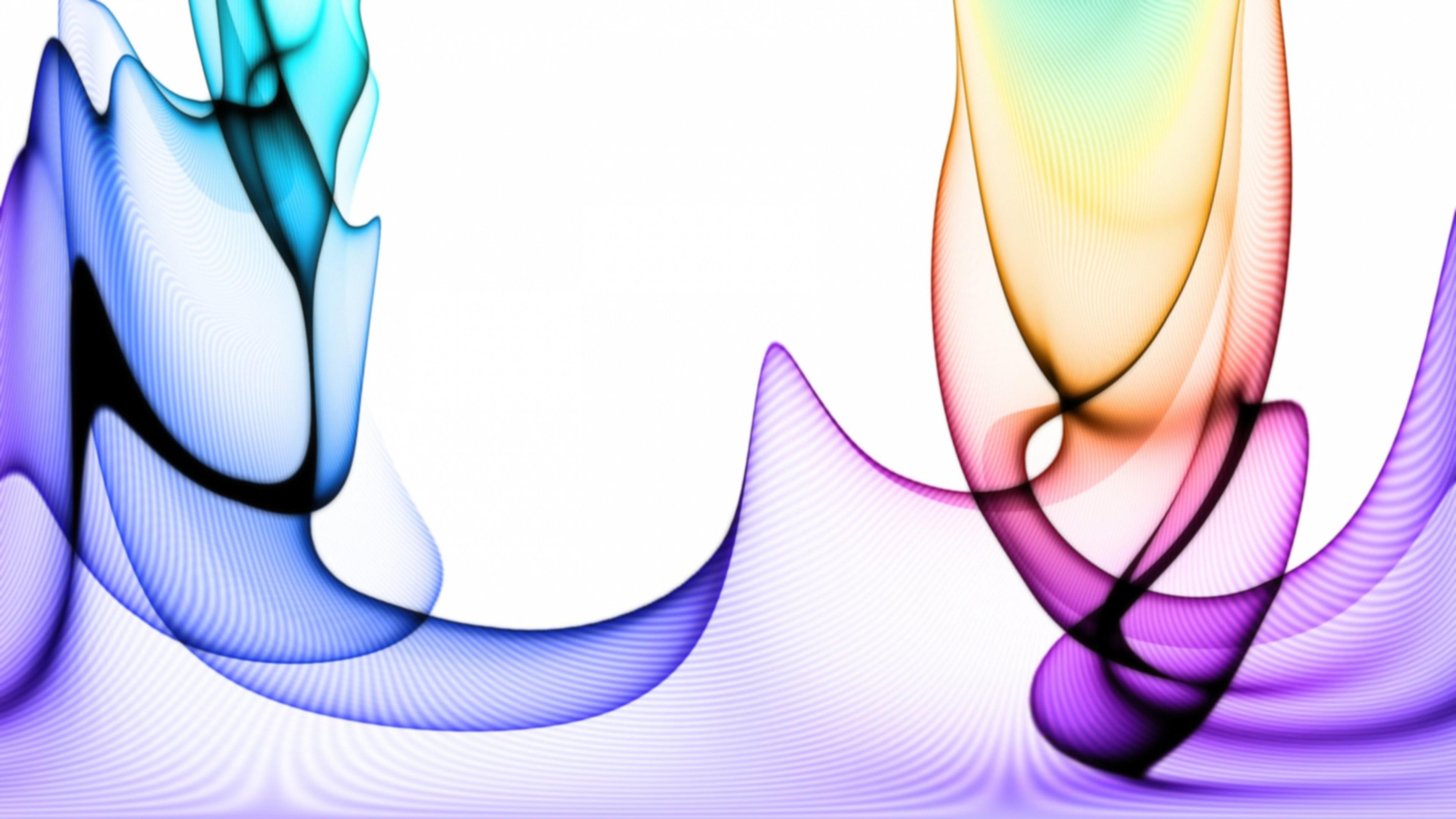 Wallpaper colorful, bright, light, veil, smoke
