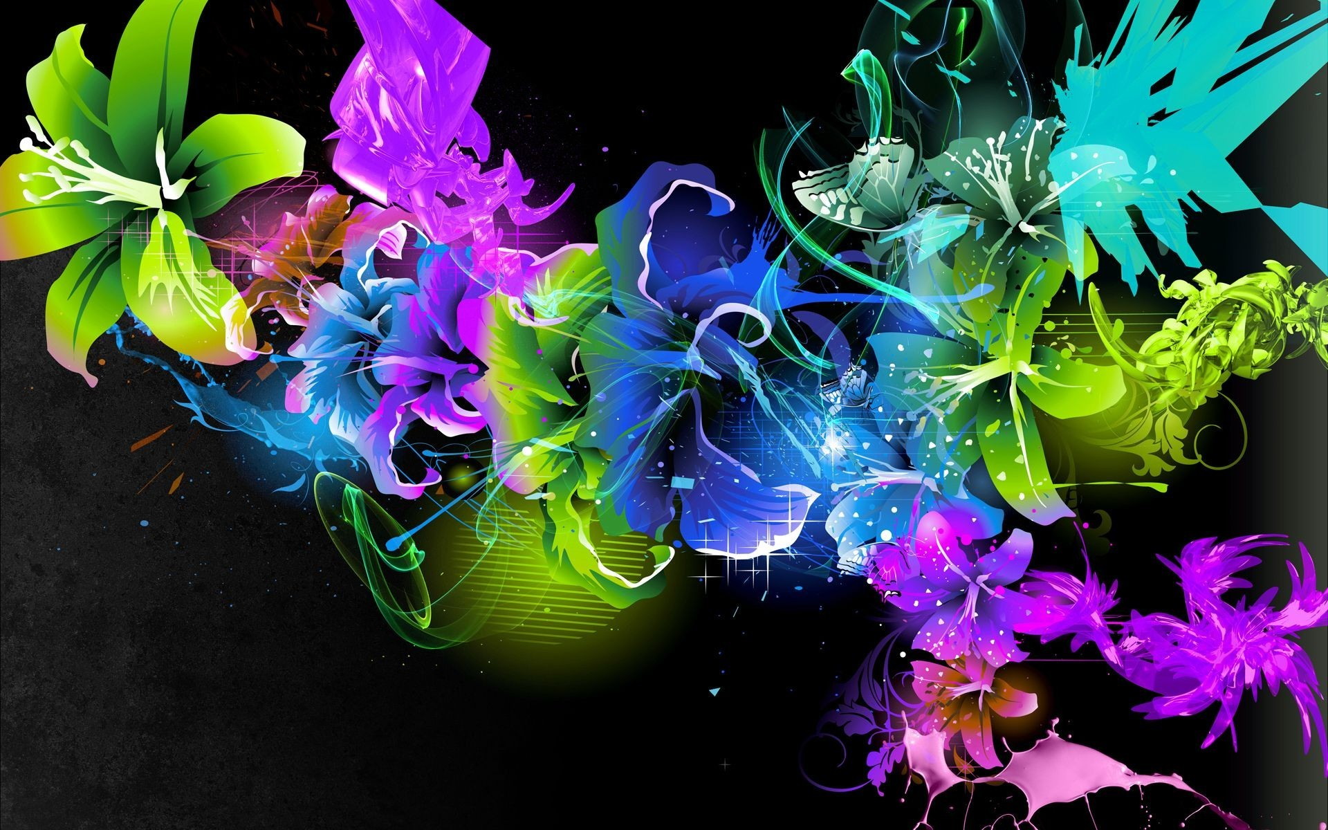 Color Abstract Wallpaper Free For Desktop