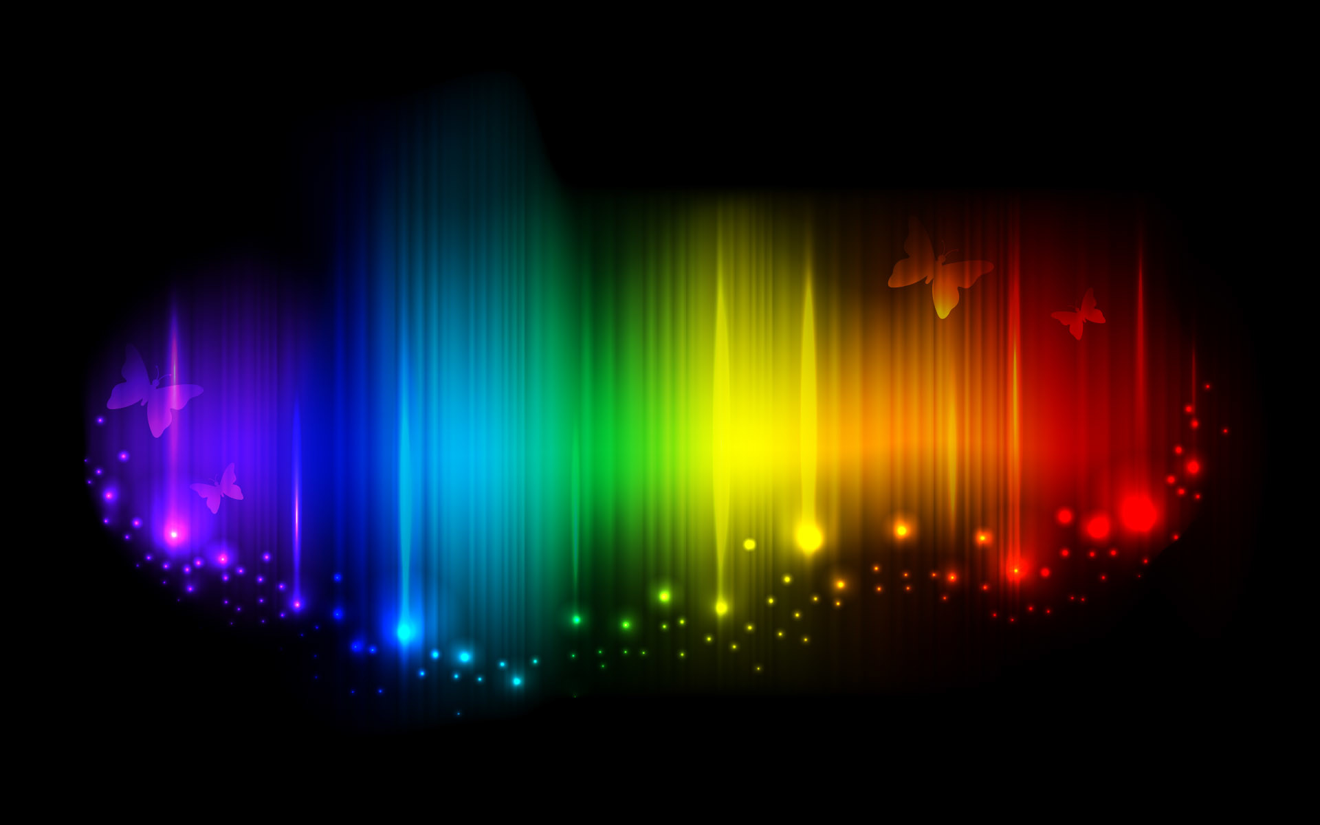 Abstract rainbow colors background ☆ Trivia fact: ROY G BIV (or ROYGBIV)