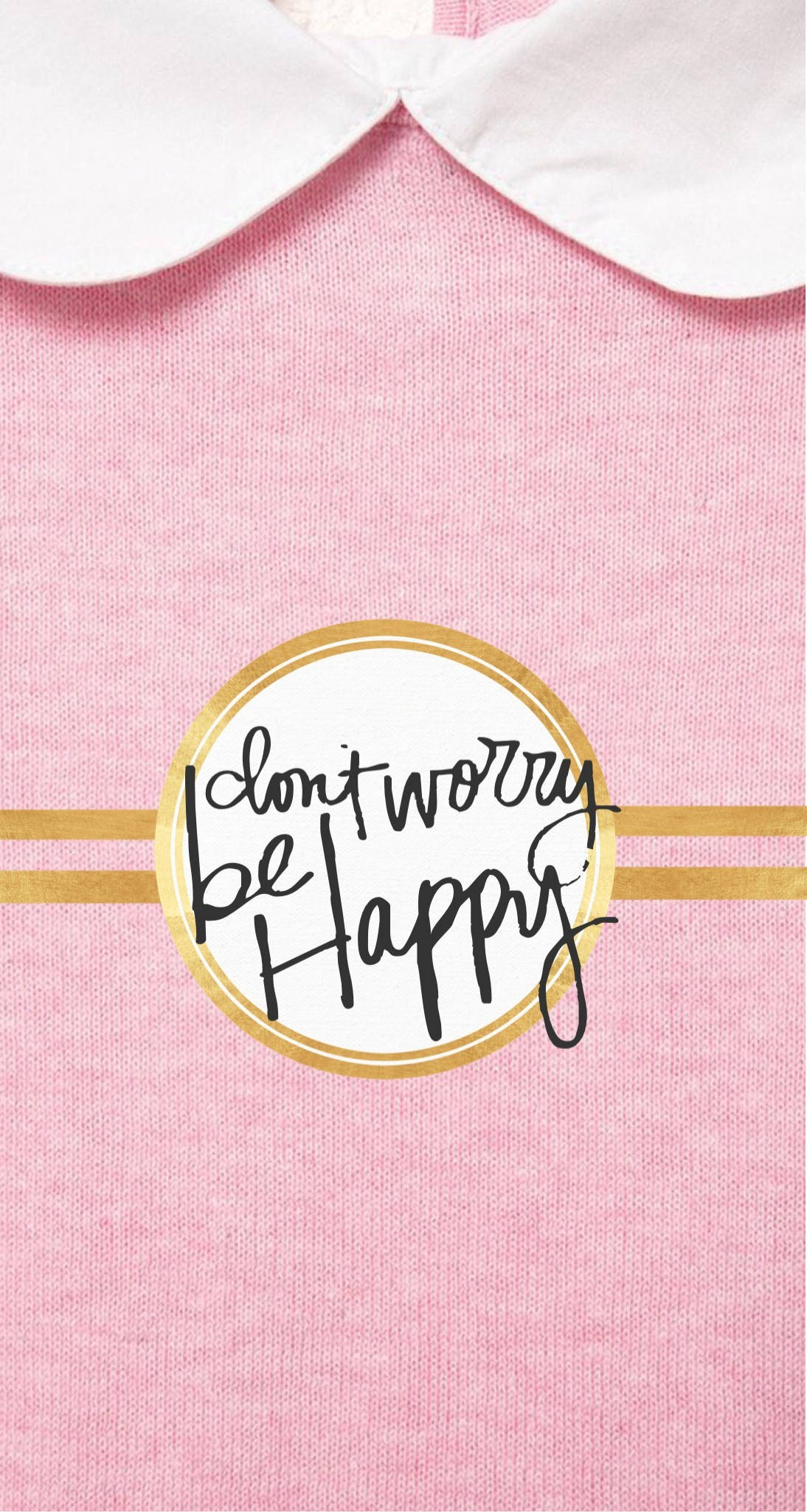Don't worry be happy ☆ Find more Super Cute wallpapers for your #iPhone