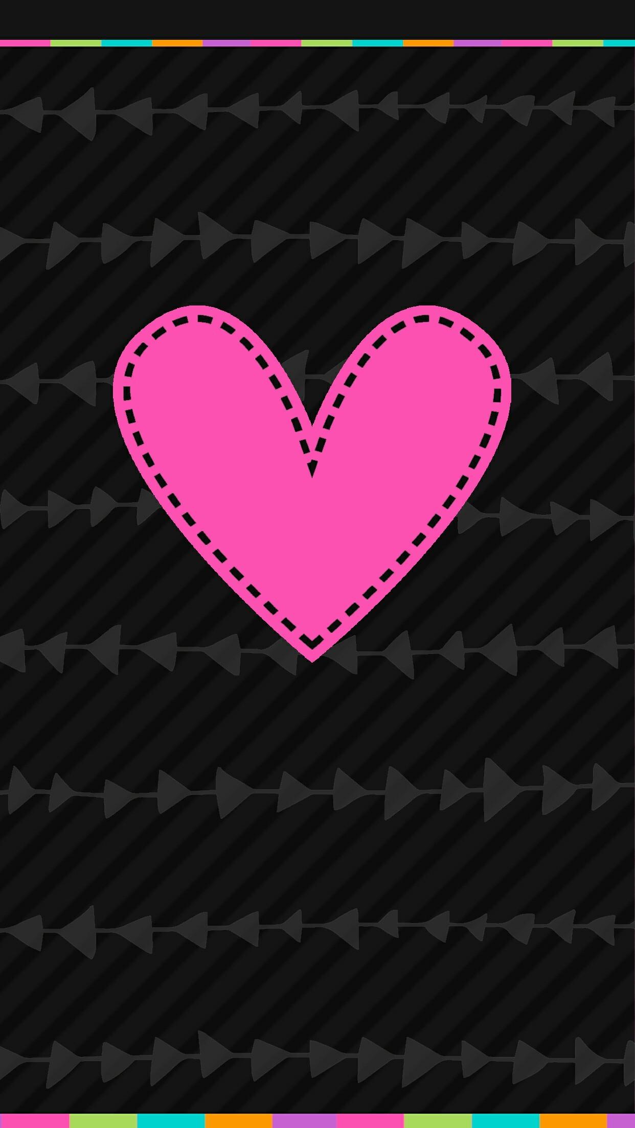 iPhone Wall tjn · Heart WallpaperPink WallpaperWallpaper BackgroundsCute …