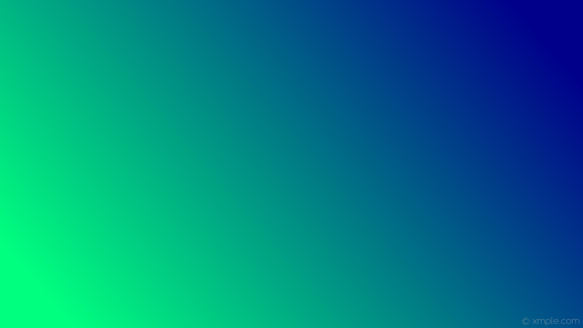 wallpaper linear gradient green blue spring green dark blue #00ff7f #00008b  195°