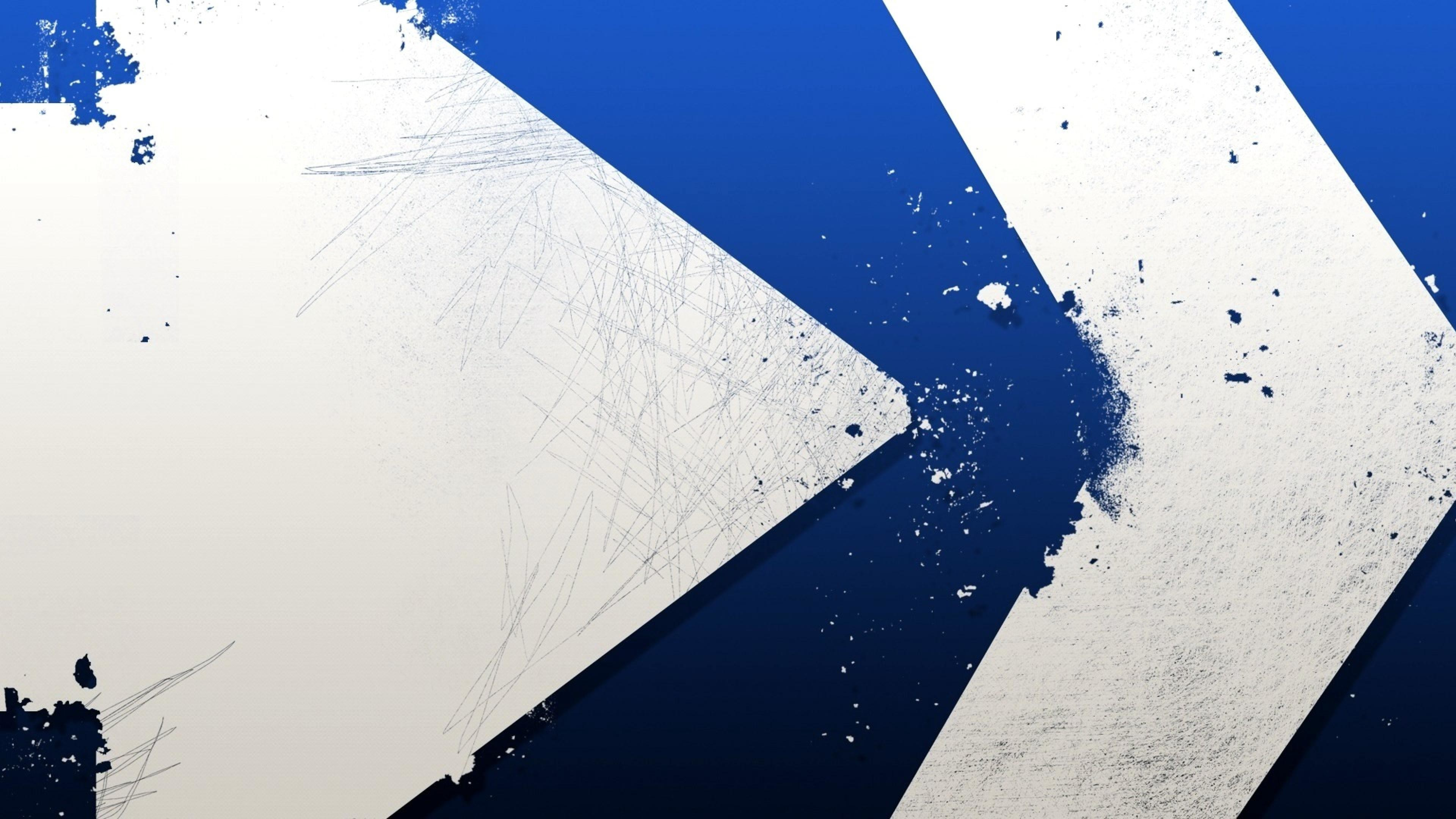 blue white abstract wallpaper