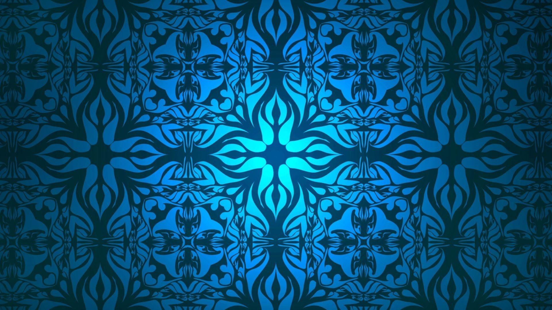Download Wallpaper Patterns, Blue, White Full HD 1080p .