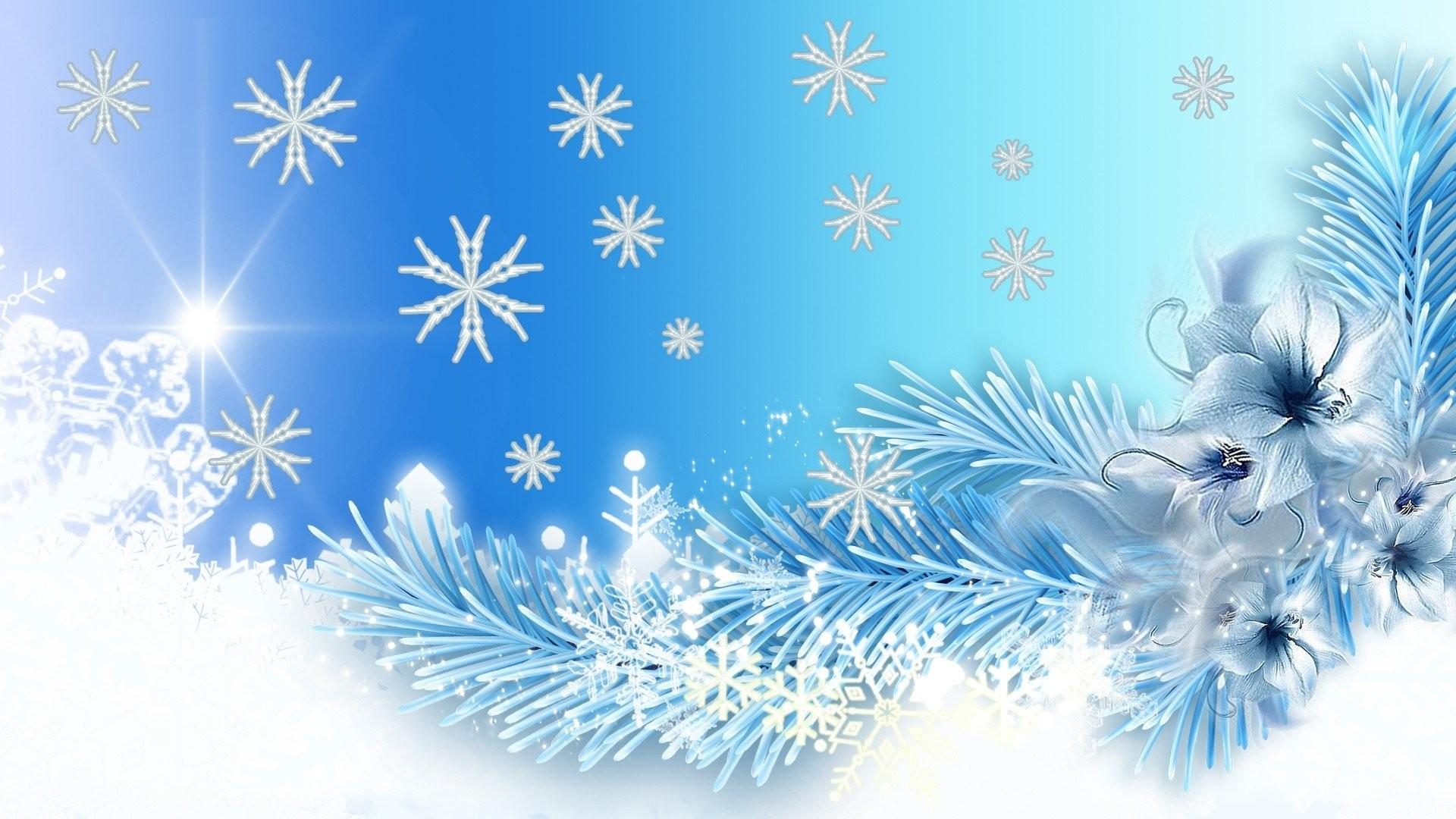 Artistic Blue Snowflake White · HD Wallpaper | Background ID:777110