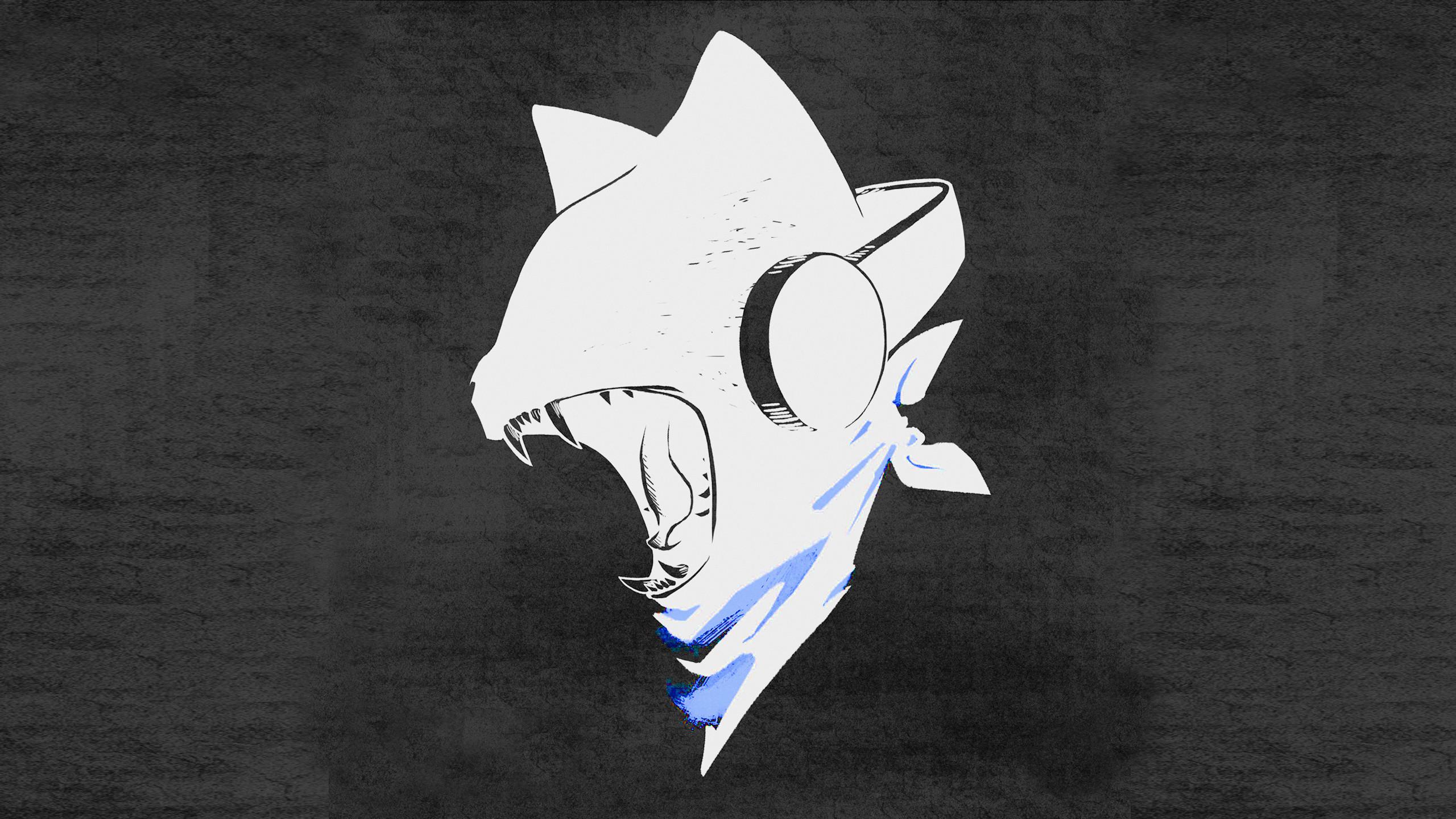 Monstercat Uncaged: White on Black Coloured Wallpapers (PC/Mac/Mobile)