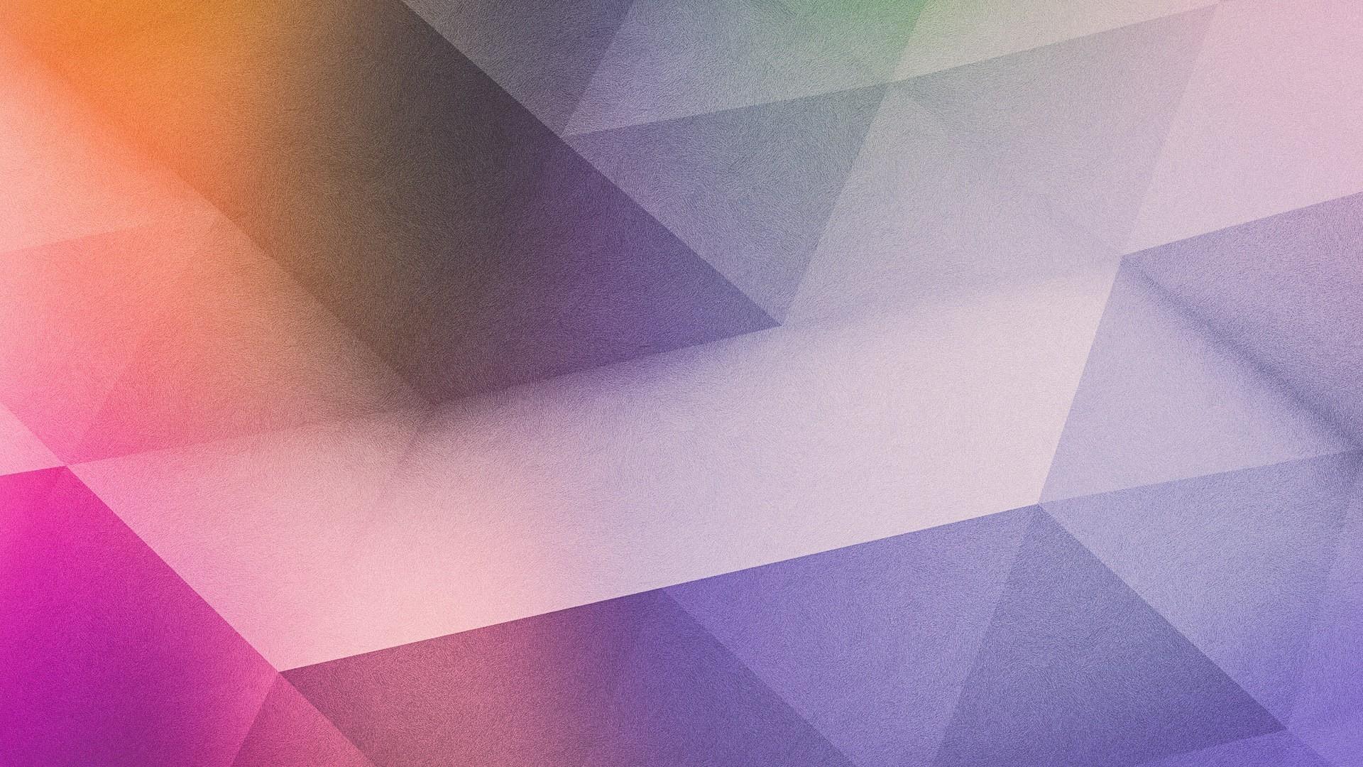 Purple Gradient Polygon HD Wallpaper High Definition Wallpaper