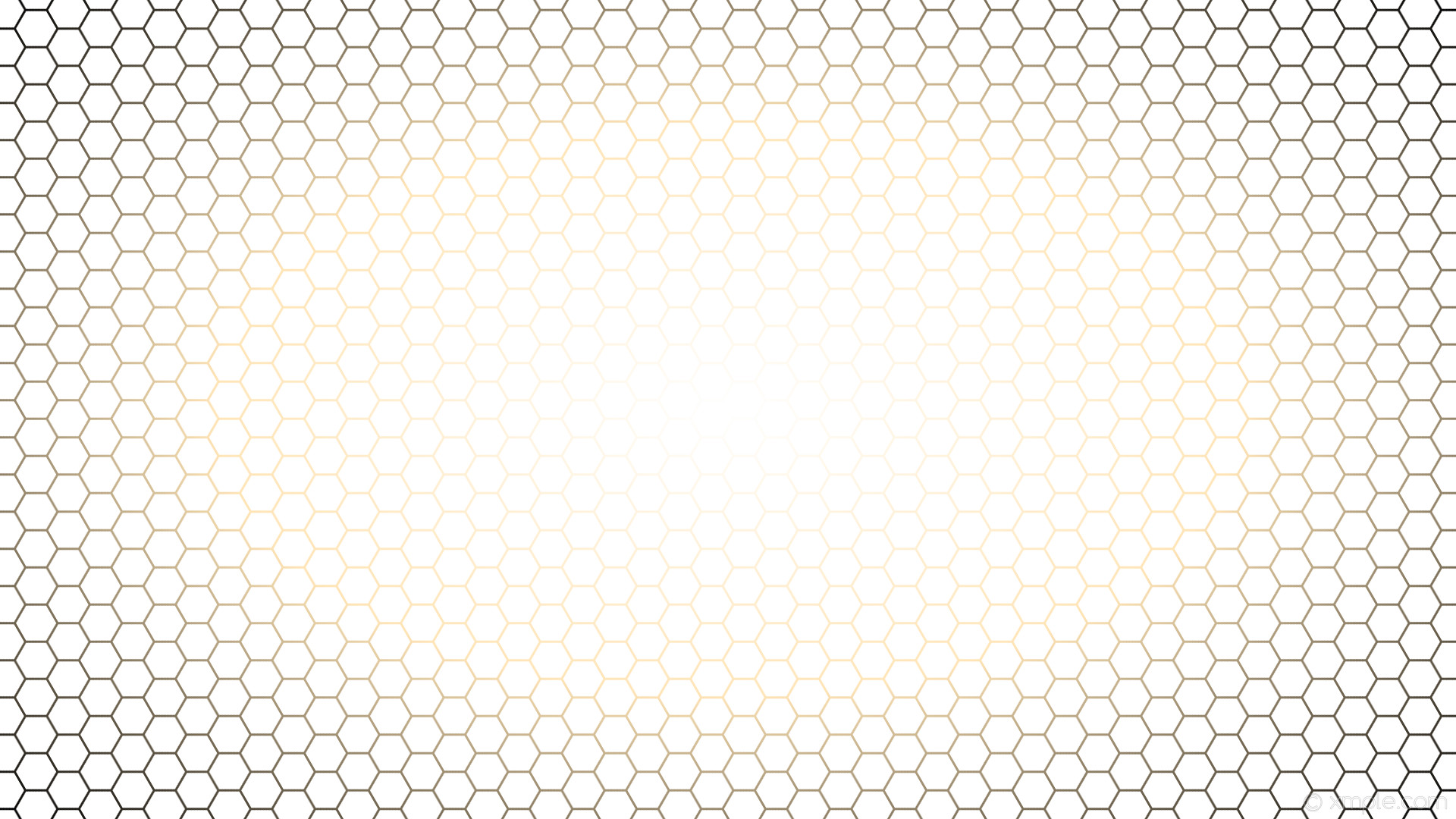 wallpaper yellow hexagon black gradient glow white moccasin #ffffff #ffffff  #ffe4b5 diagonal 30