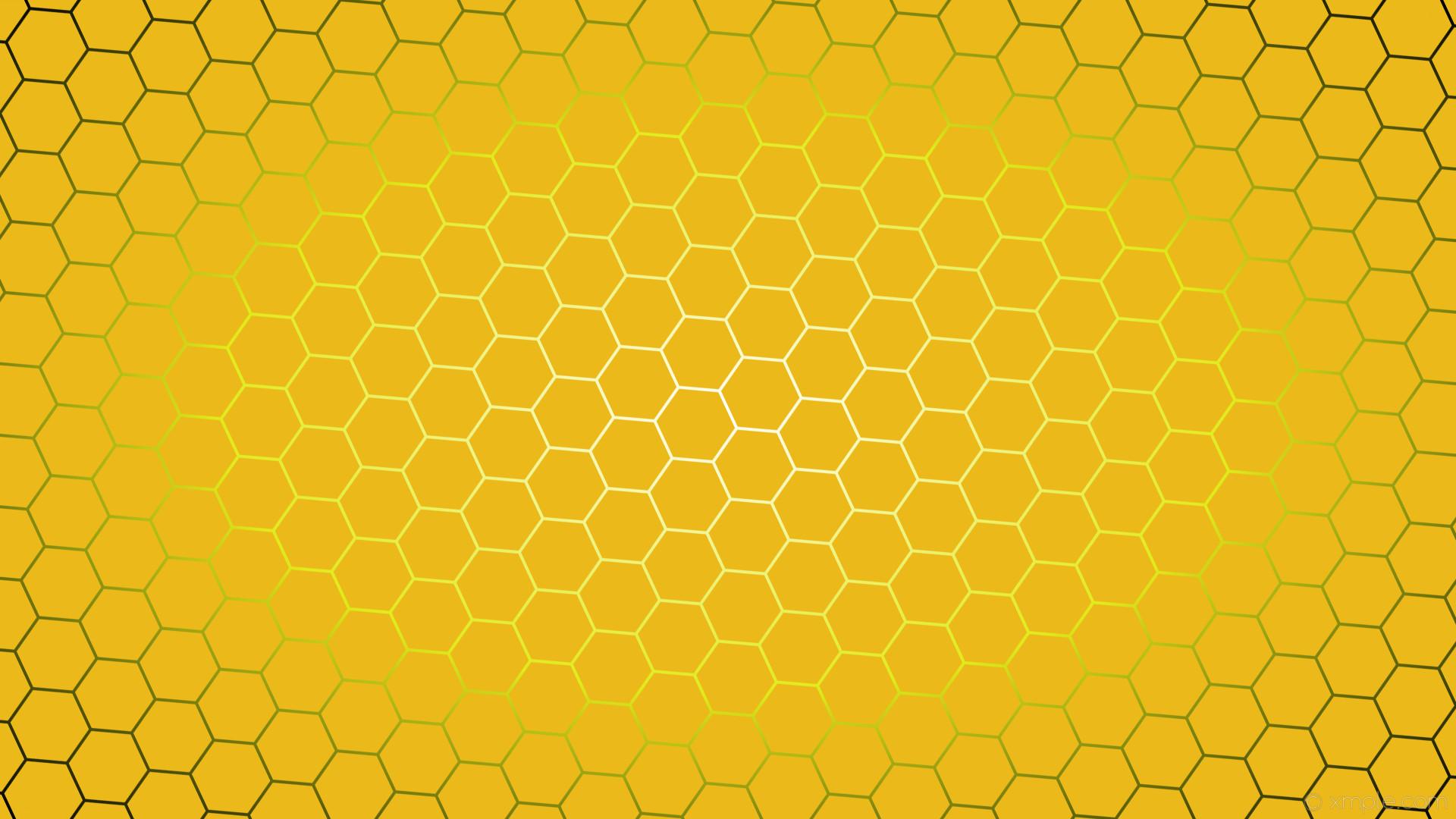 wallpaper yellow hexagon black glow gradient white #ecb91a #ffffff #e0ec1a  diagonal 25°