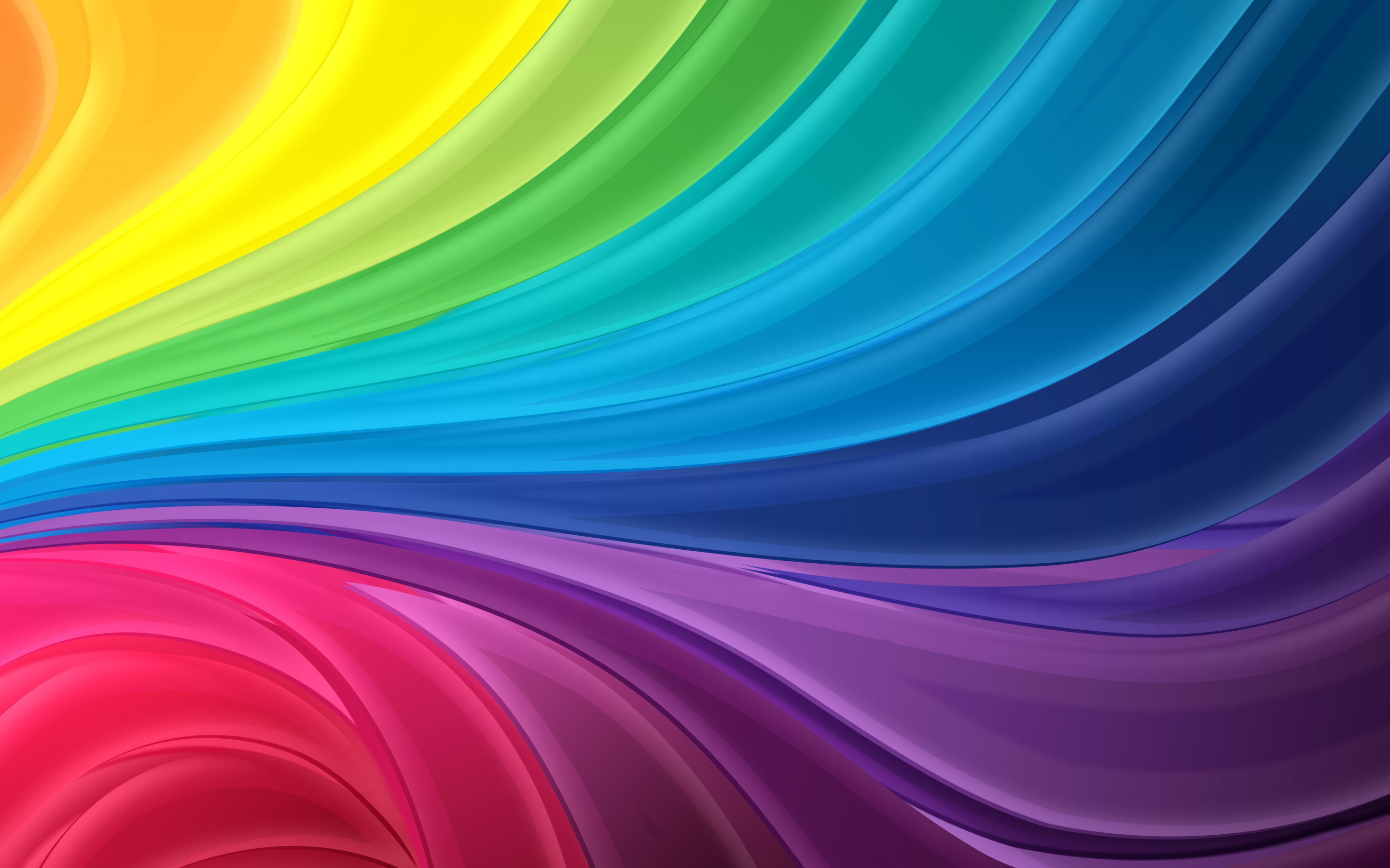 Colors Of The Rainbow Names Wallpaper