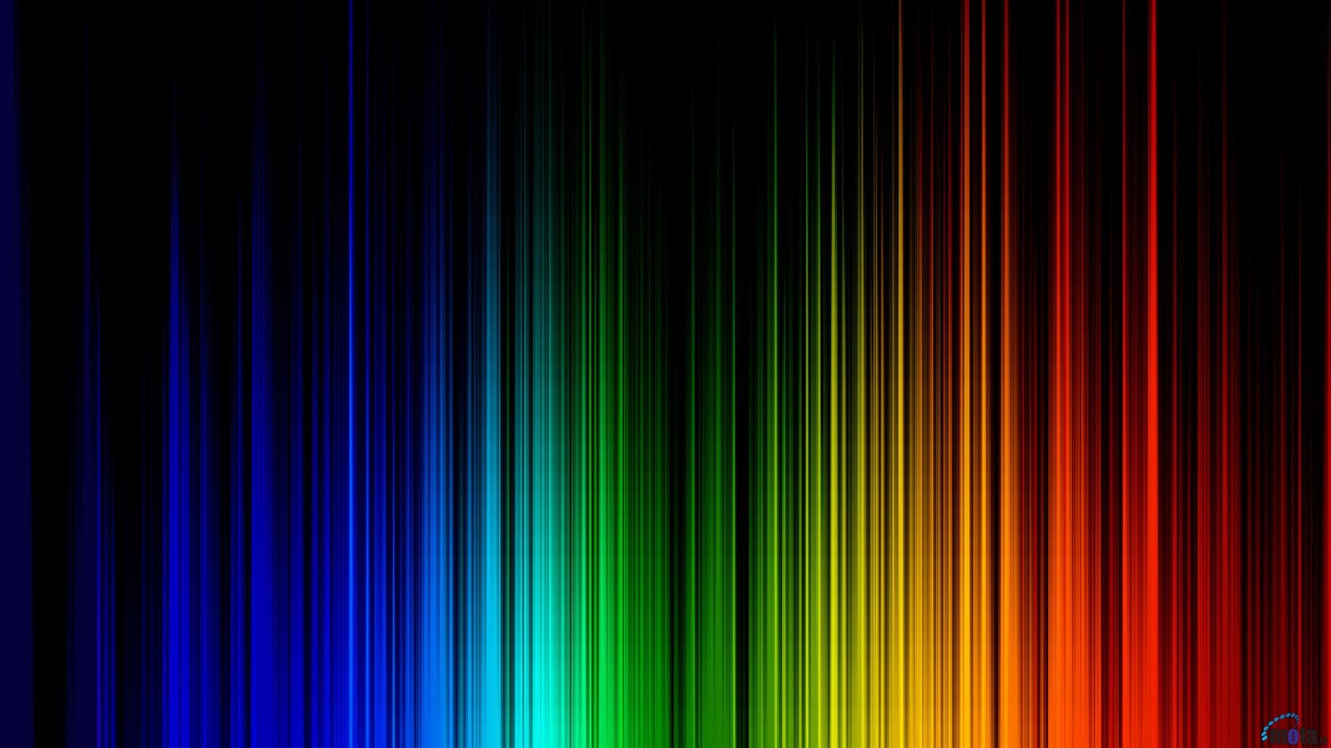Rainbow Colors Background Wallpaper