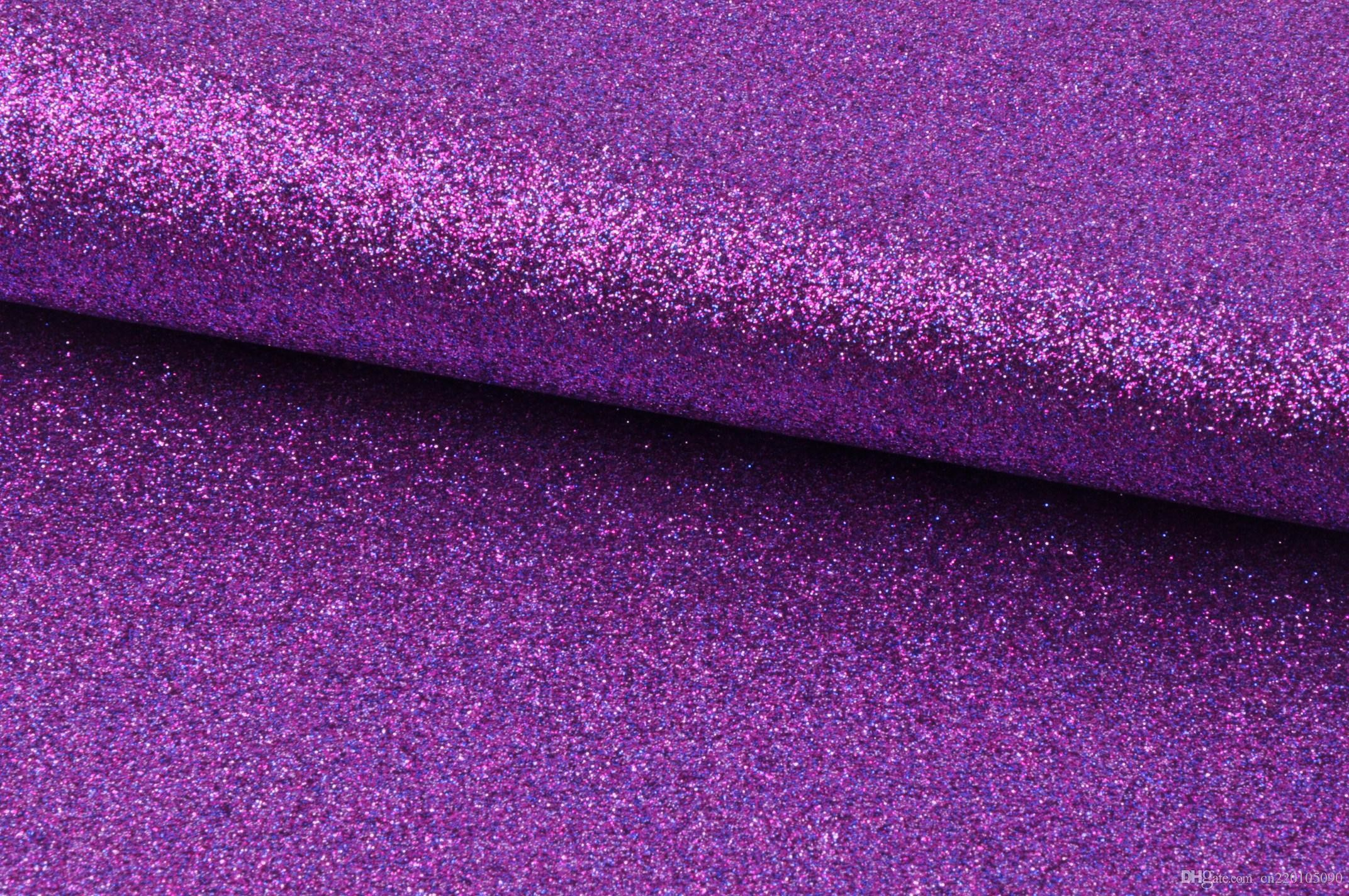 DErun Colorful Fine Glitter Pu Fabric Wallpaper Factory Wholesales 50m Roll  Generation Available Glitter Wall Covering Glitter Wallpaper Glitter  Leather …