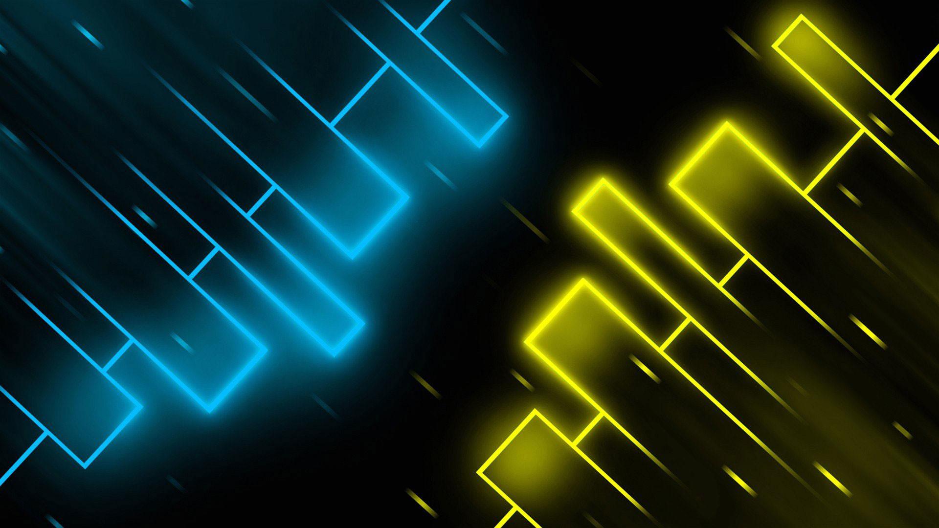hd pics photos neon blue yellow neon wallpapers desktop background wallpaper