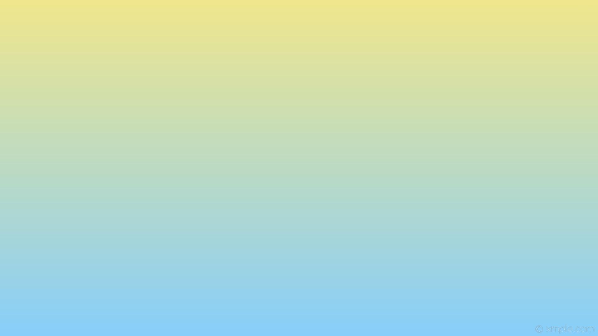 wallpaper blue gradient yellow linear light sky blue khaki #87cefa #f0e68c  270°