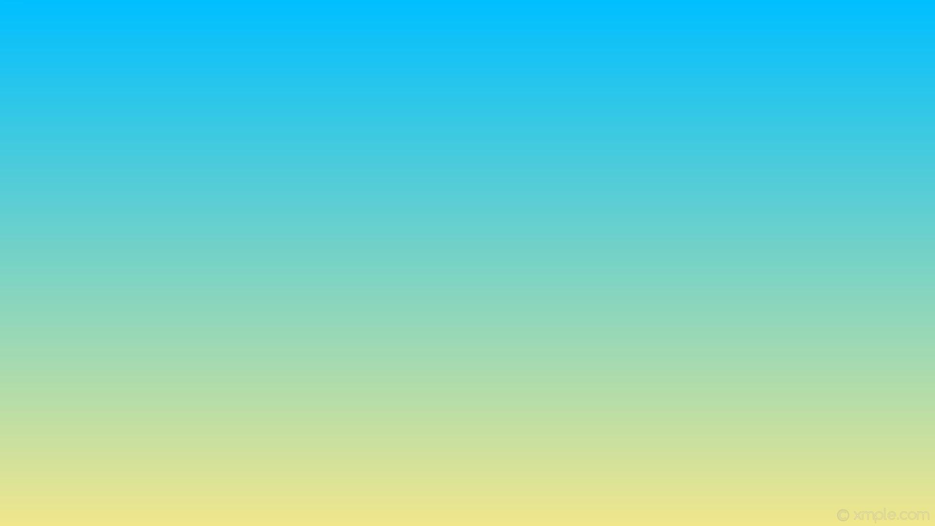 wallpaper linear blue yellow gradient khaki deep sky blue #f0e68c #00bfff  270°