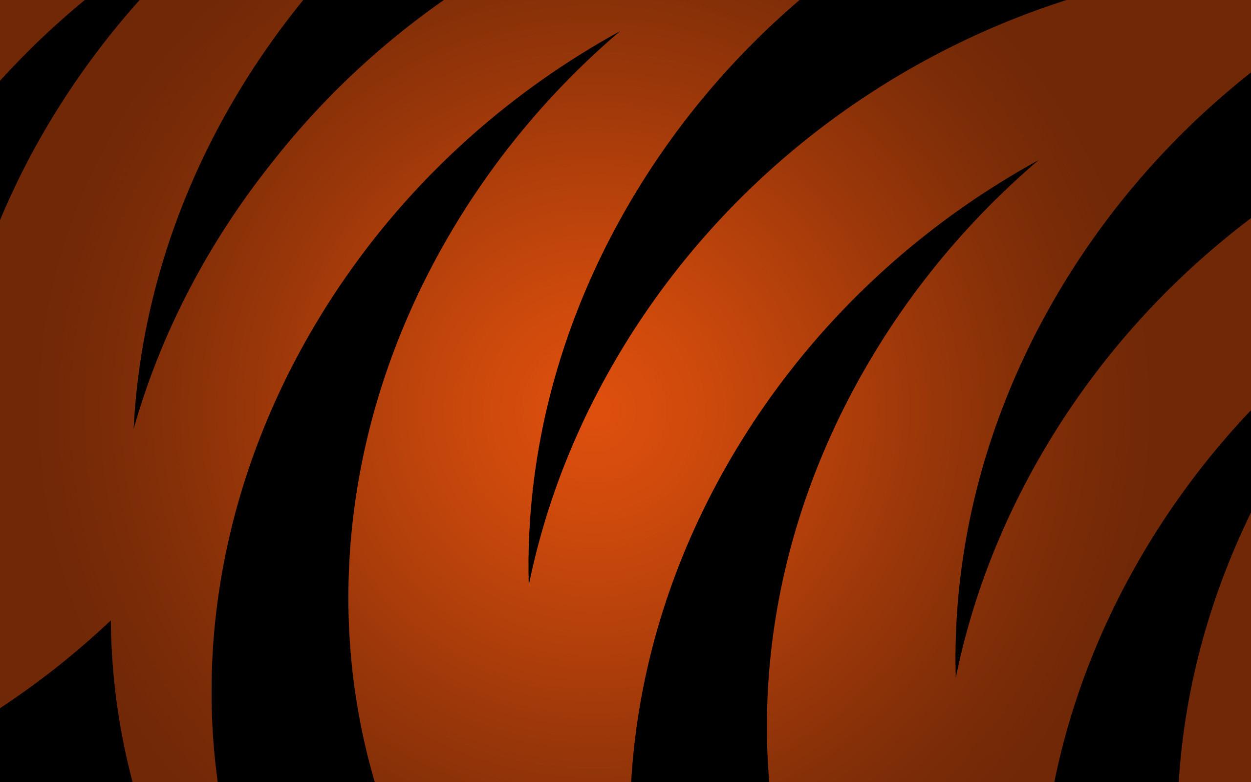 Black and Orange Background HD.