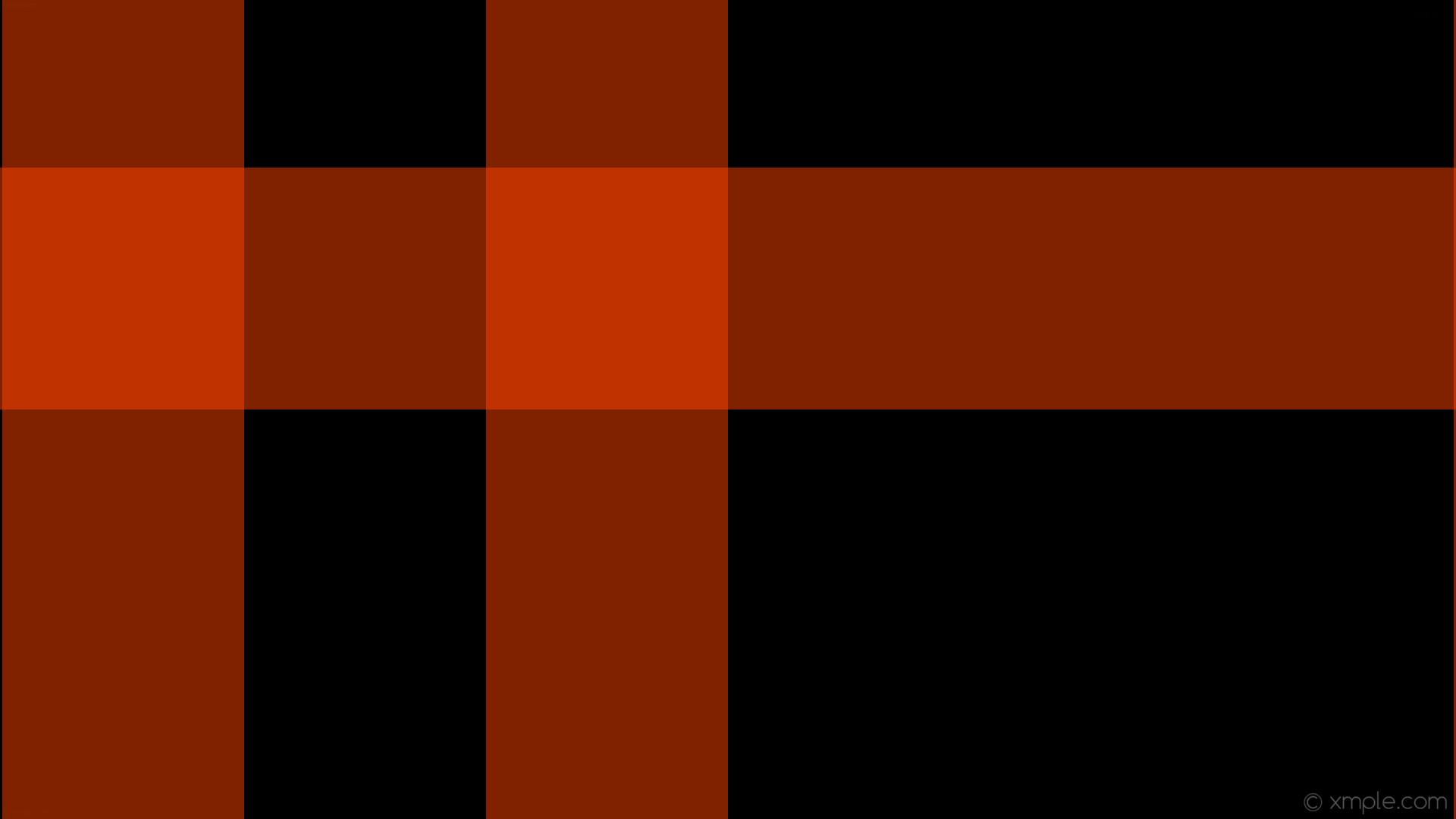 wallpaper dual black striped gingham orange orangered #000000 #ff4500 180°  319px