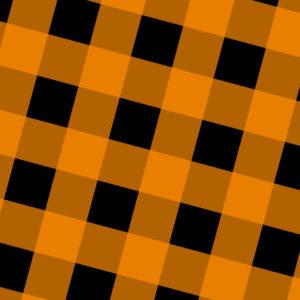 Orange and Black